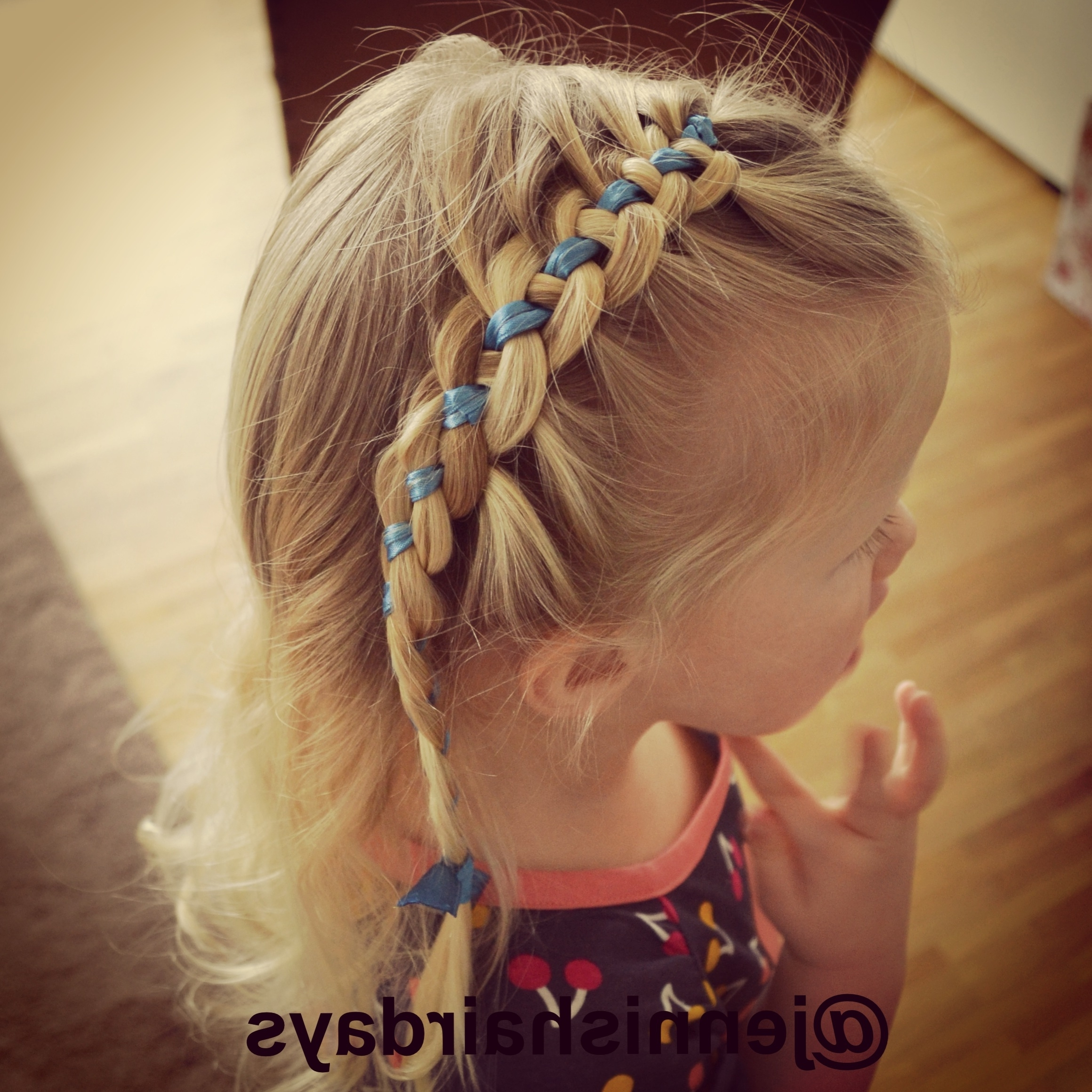 Jennishairdays – Page 14 Regarding Famous Braided Ribbon Hairstyles (View 5 of 15)