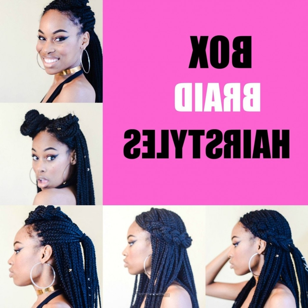 Latest Box Braids Hairstyles With Regard To 5 Simple Box Braid Hairstyles That Turn Heads – Voice Of Hair (View 9 of 15)