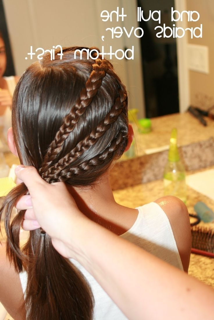 Latest Braided Gymnastics Hairstyles Regarding Ten Exciting Parts Of Attending Cute Gymnastics Hairstyles (View 15 of 15)