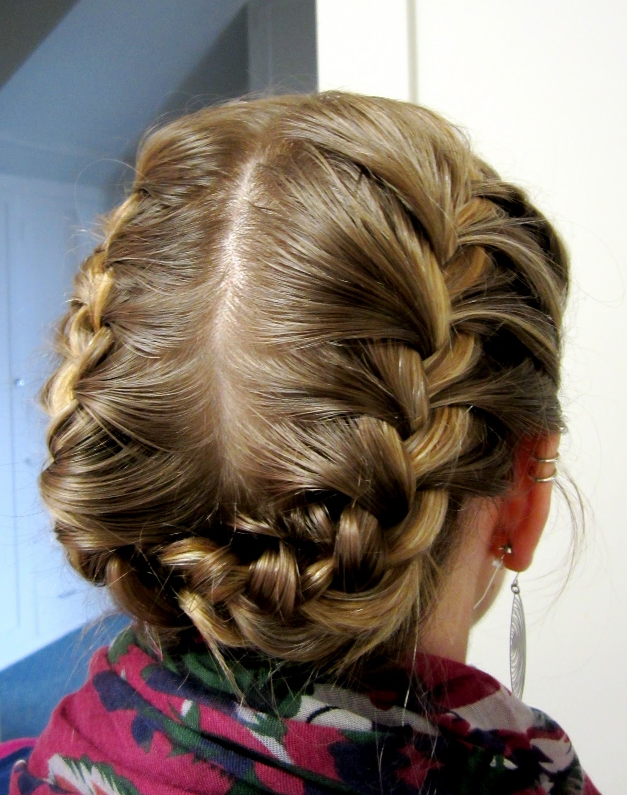Latest Braided Gymnastics Hairstyles With Regard To Bye Bye Beehive │ A Hairstyle Blog: Halo Braid (View 13 of 15)