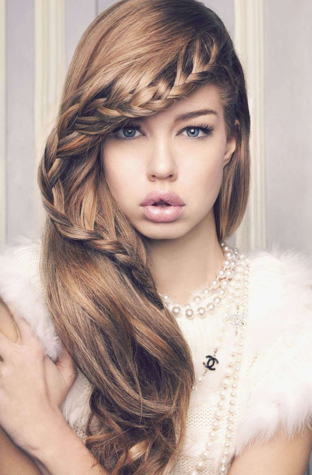 Latest Cute Braided Hairstyles With Regard To Cute Braided Hairstyles About Wavy Hair Removal – Downinme (View 8 of 15)