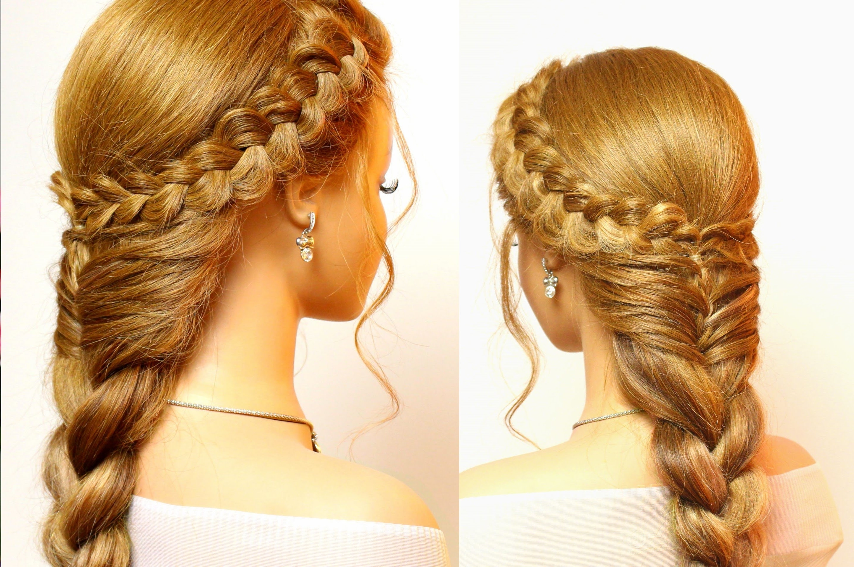 Latest Long Braided Hairstyles With Regard To Ideas Cute Easy Braids Hairstyle Black Braided Hairstyles For Short (View 7 of 15)