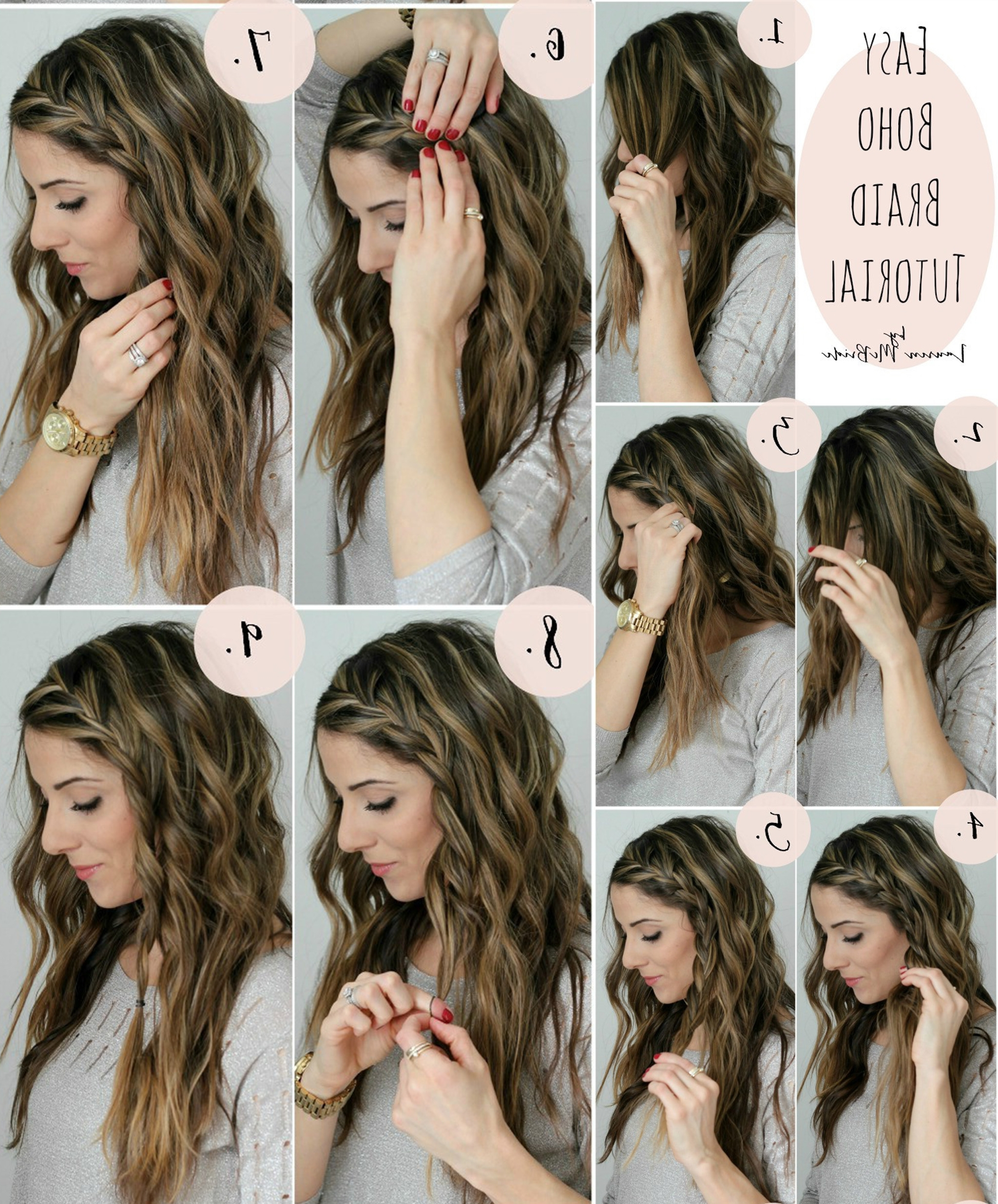 Learn, How To Create 15 Beautiful Braided Hairstyles, Sew Tutorial Pertaining To Most Recently Released Boho Braided Hairstyles (View 11 of 15)