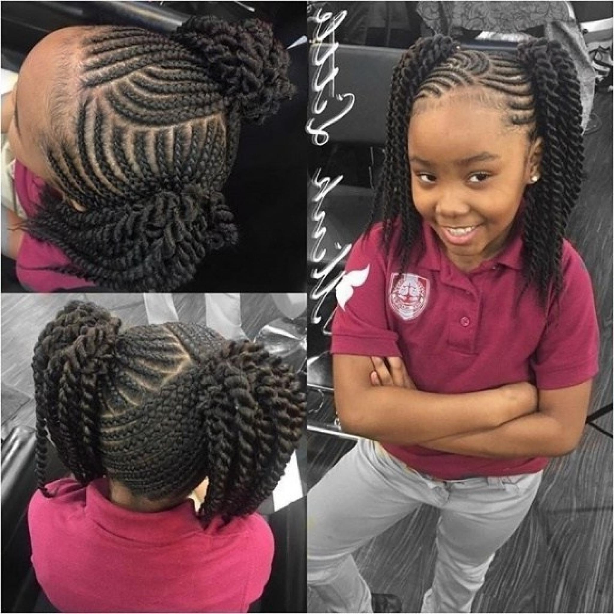Photo Gallery of Braided Hairstyles For Little Black Girl (Viewing ...