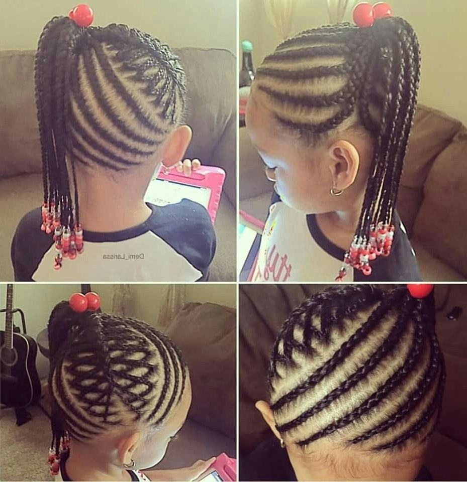 Little Girl Braided Hairstyle Super Cute (View 8 of 15)