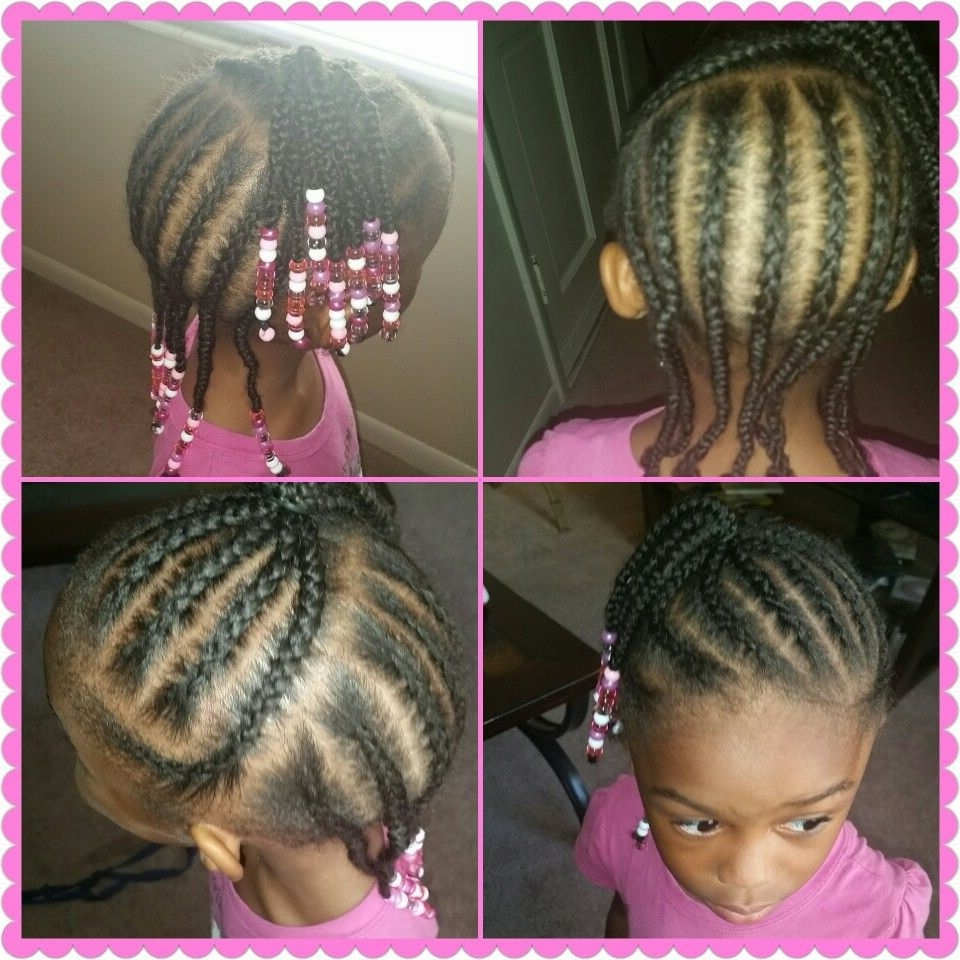 Little Girls Braided Hairstyle  (View 12 of 15)
