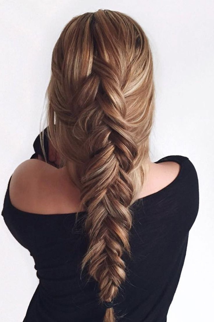 Loose Fishtail Braid (View 12 of 15)