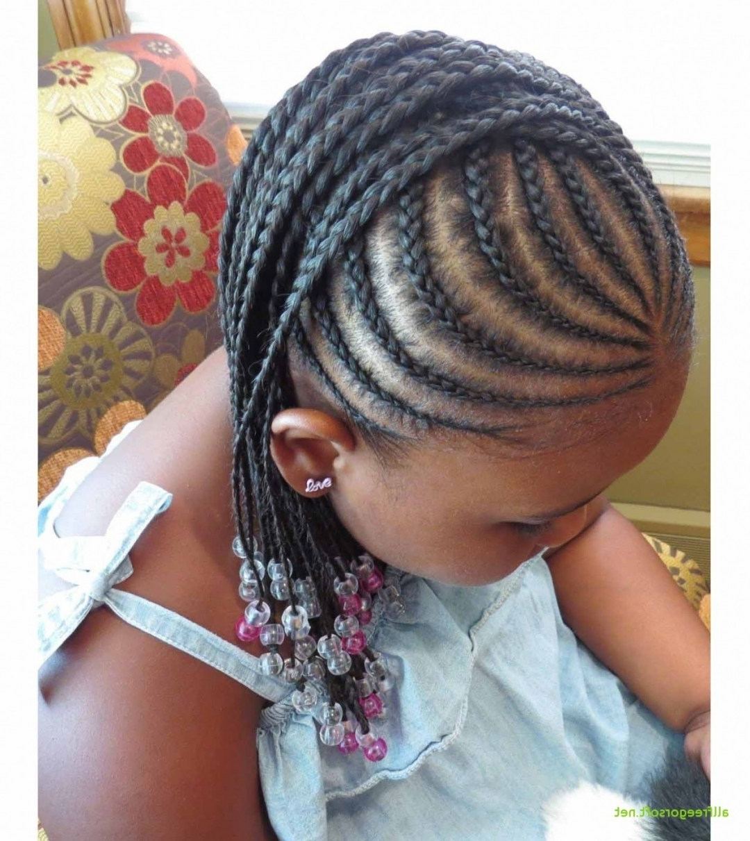 Lovely African American Little Girl Braid Hairstyles – Kids Clothes With Regard To Well Liked Braided Hairstyles For Kids (View 7 of 15)