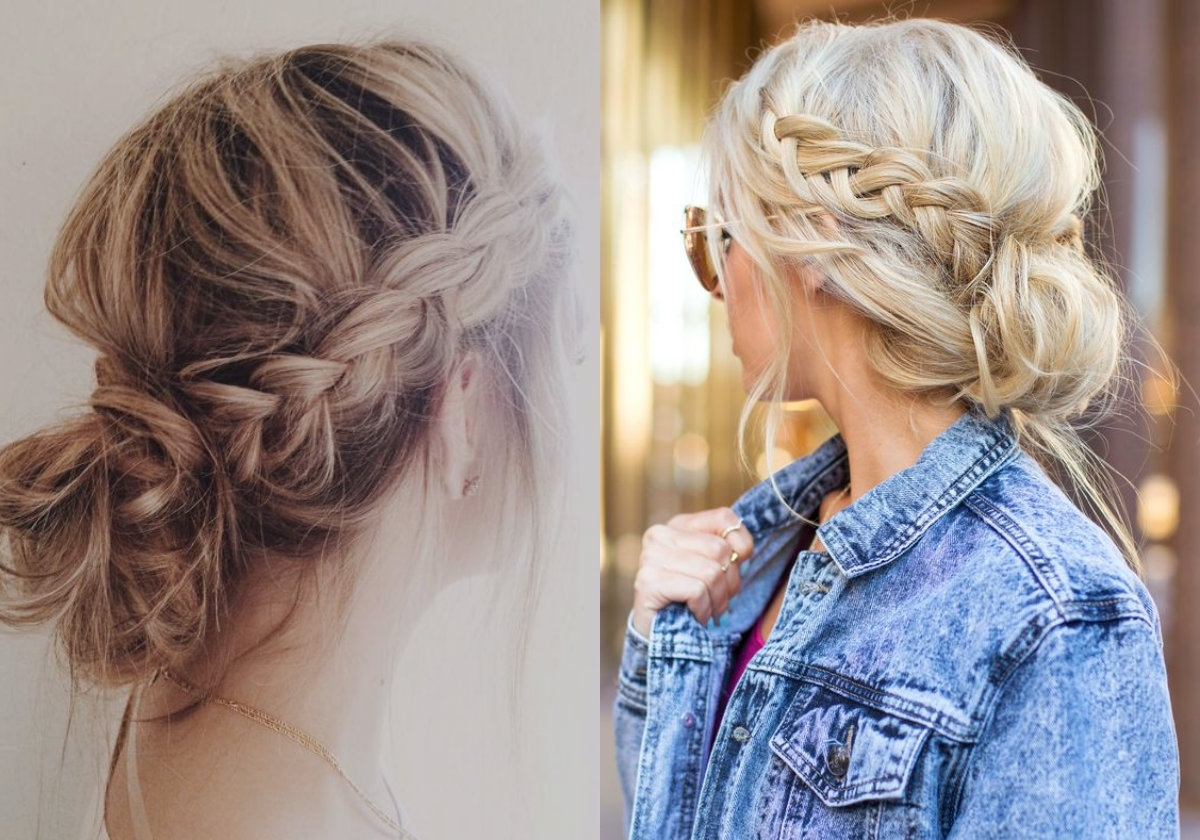 Lovely & Timeless Messy Braids Hairstyles (View 6 of 15)