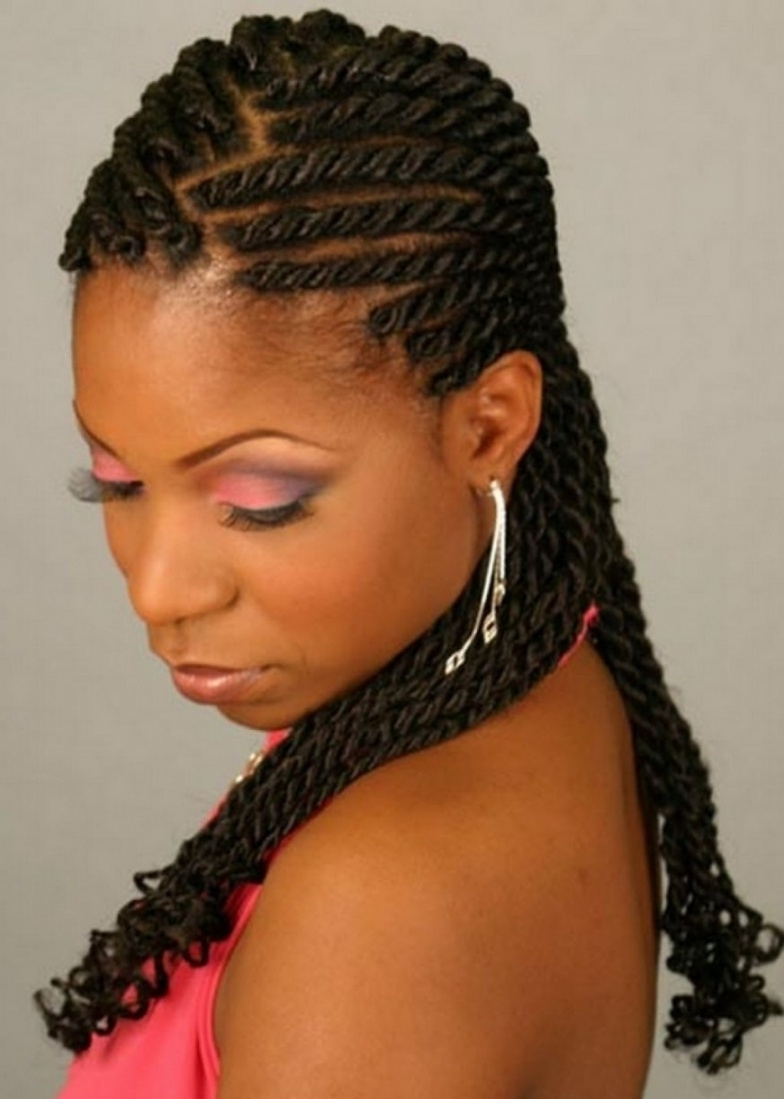 Luxury Black Braided Hairstyles With Weave 35 Ideas With Black In Throughout Well Known Braided Hairstyles Without Weave (View 11 of 15)