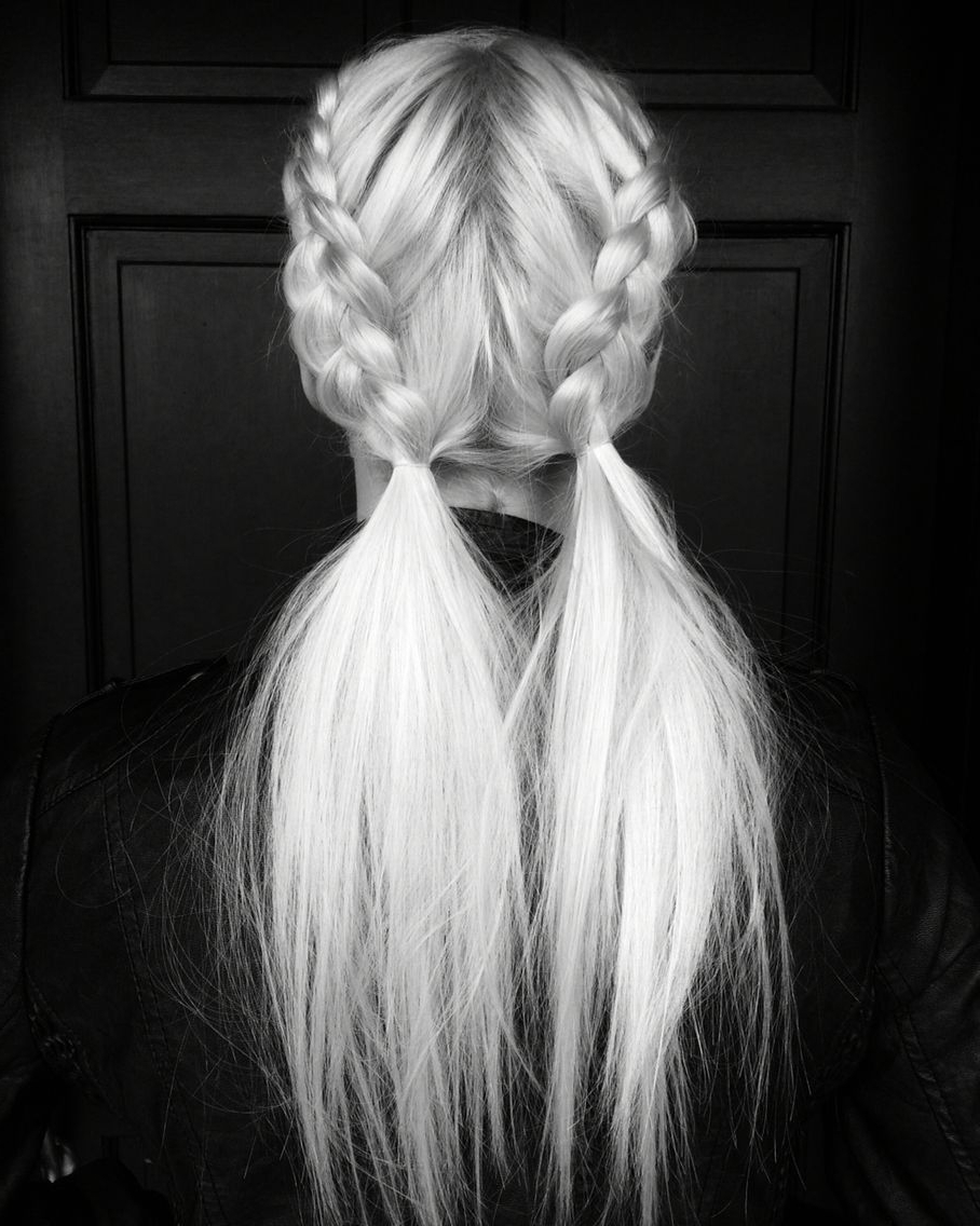 Messy Pigtail Pony Braids (View 10 of 15)
