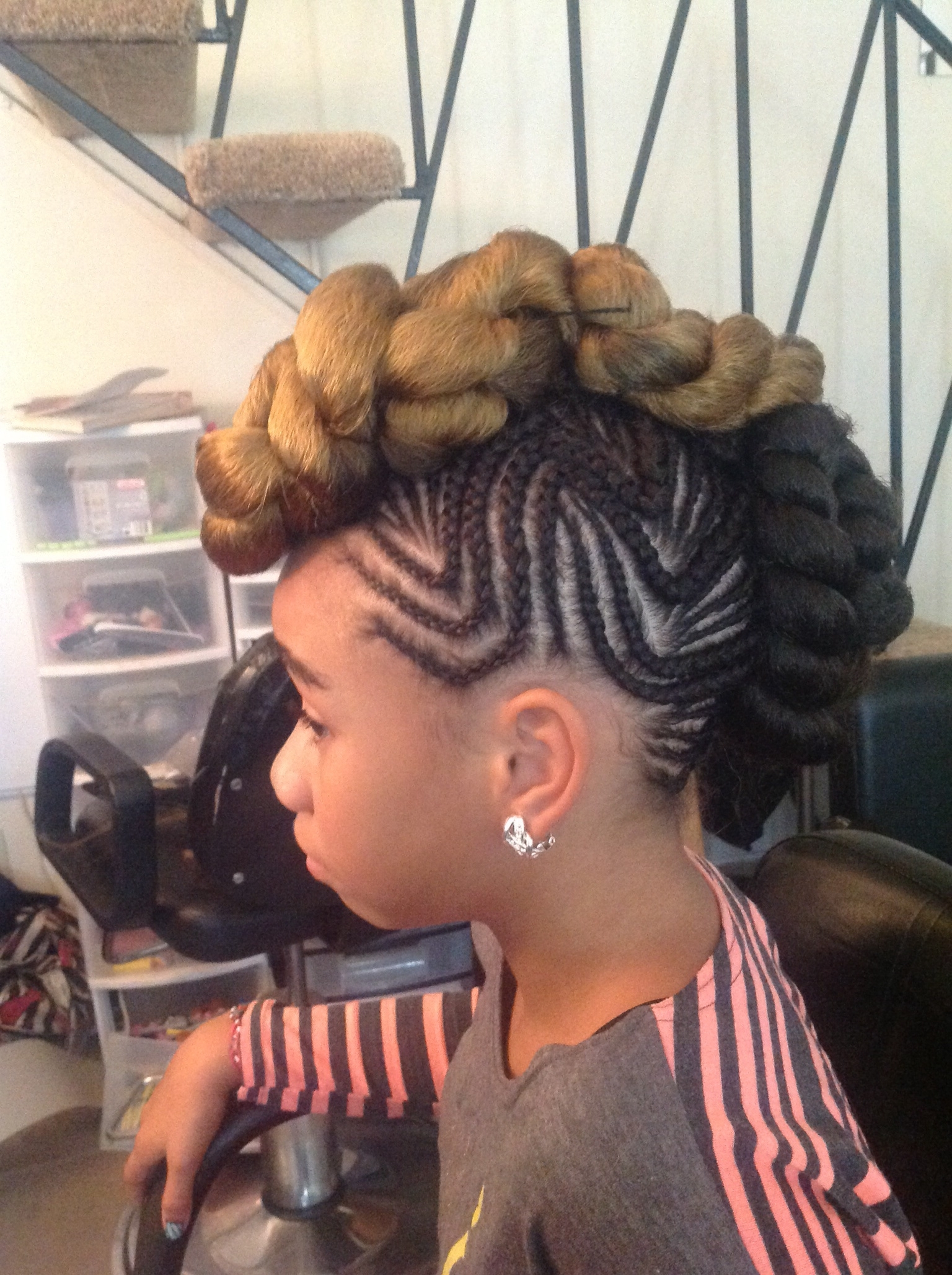 Mohawk Braid Hairstyles Inspirational Best Hair Updos Specially Pertaining To Best And Newest Mohawk Braided Hairstyles (View 14 of 15)
