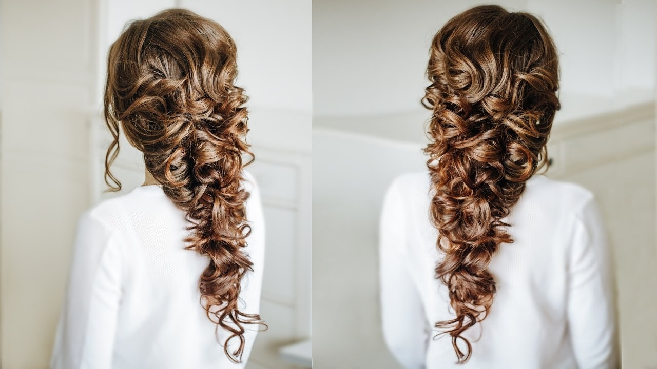 Most Current Braided Greek Hairstyles Intended For Voluminous Greek Style Braid / Easy Hairstyle For Long Dark Hair (View 3 of 15)
