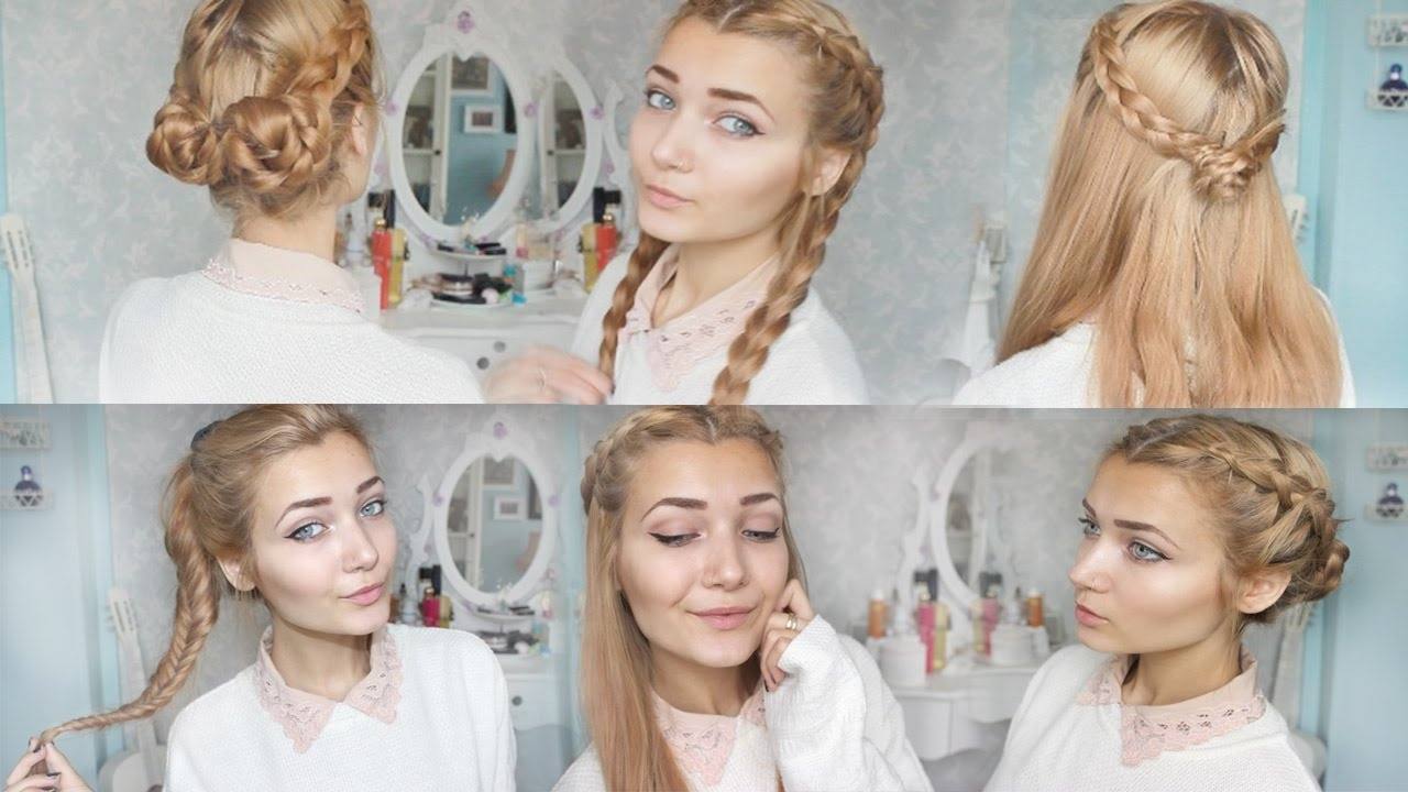 Featured Photo of Braided Hairstyles For School