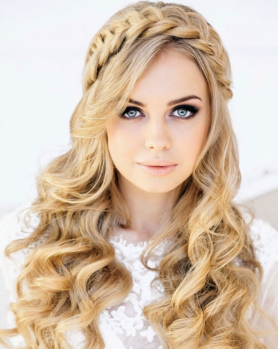 Most Current Braided Hairstyles With Curly Hair Regarding Staggering Braided Hairstyles Withurls Ideas Hair Game Twist And (View 10 of 15)