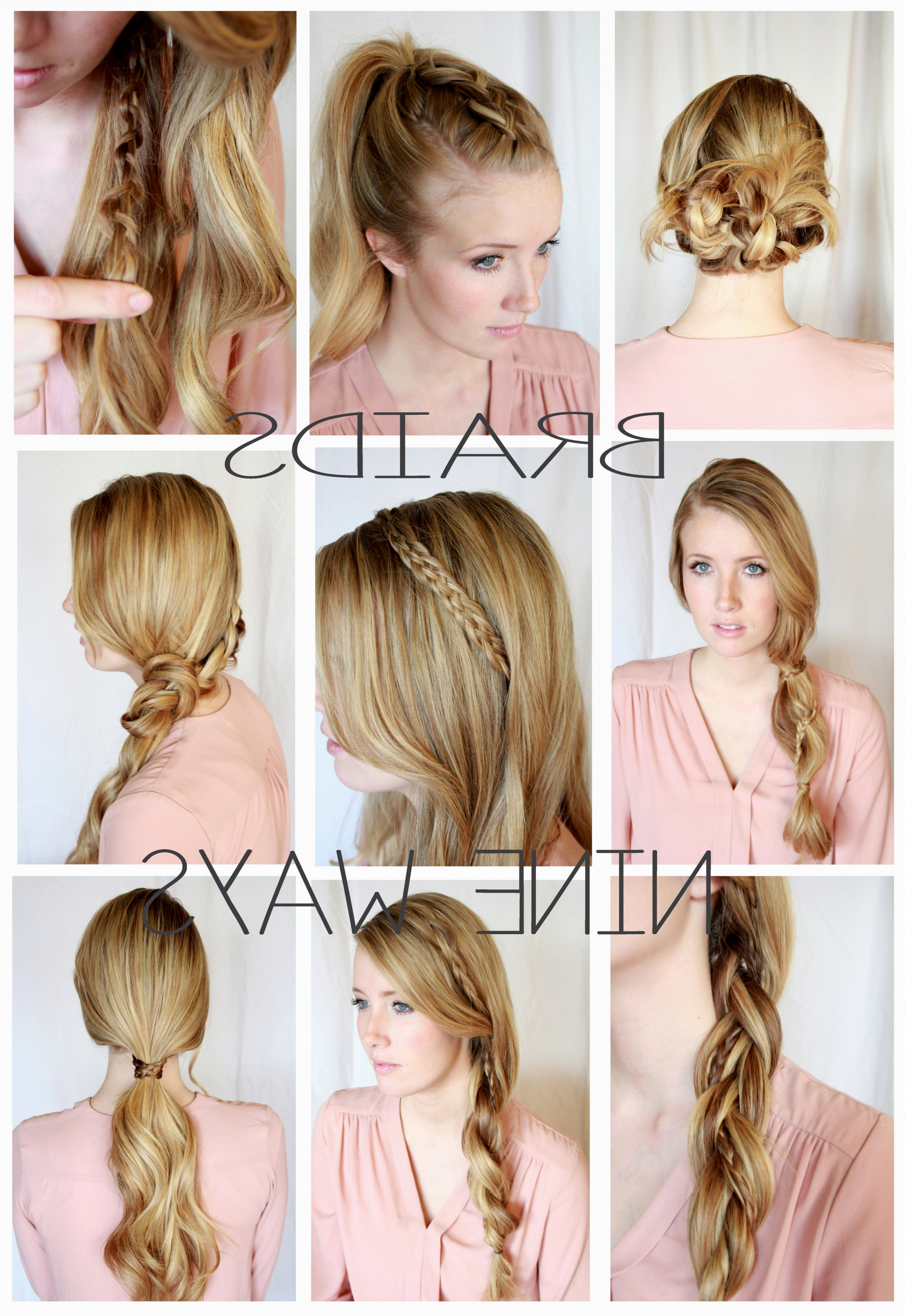 Most Current Easy Braided Hairstyles Throughout Cute Easy Braided Hairstyles Collection Of Solutions Cute Braid (View 8 of 15)