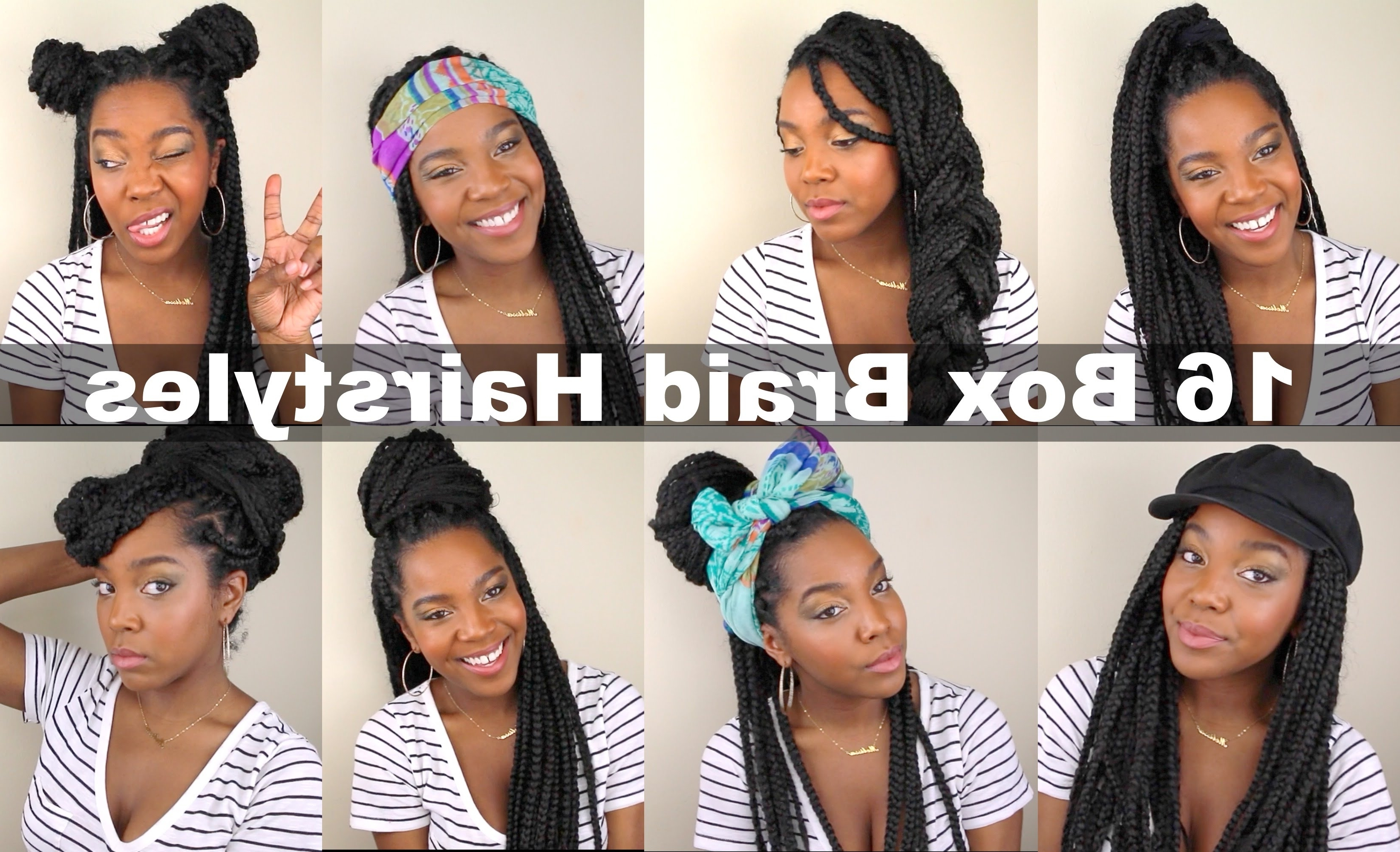 Most Current Quick Braided Hairstyles For Medium Hair Pertaining To 16 Box Braid Hairstyles (View 11 of 15)