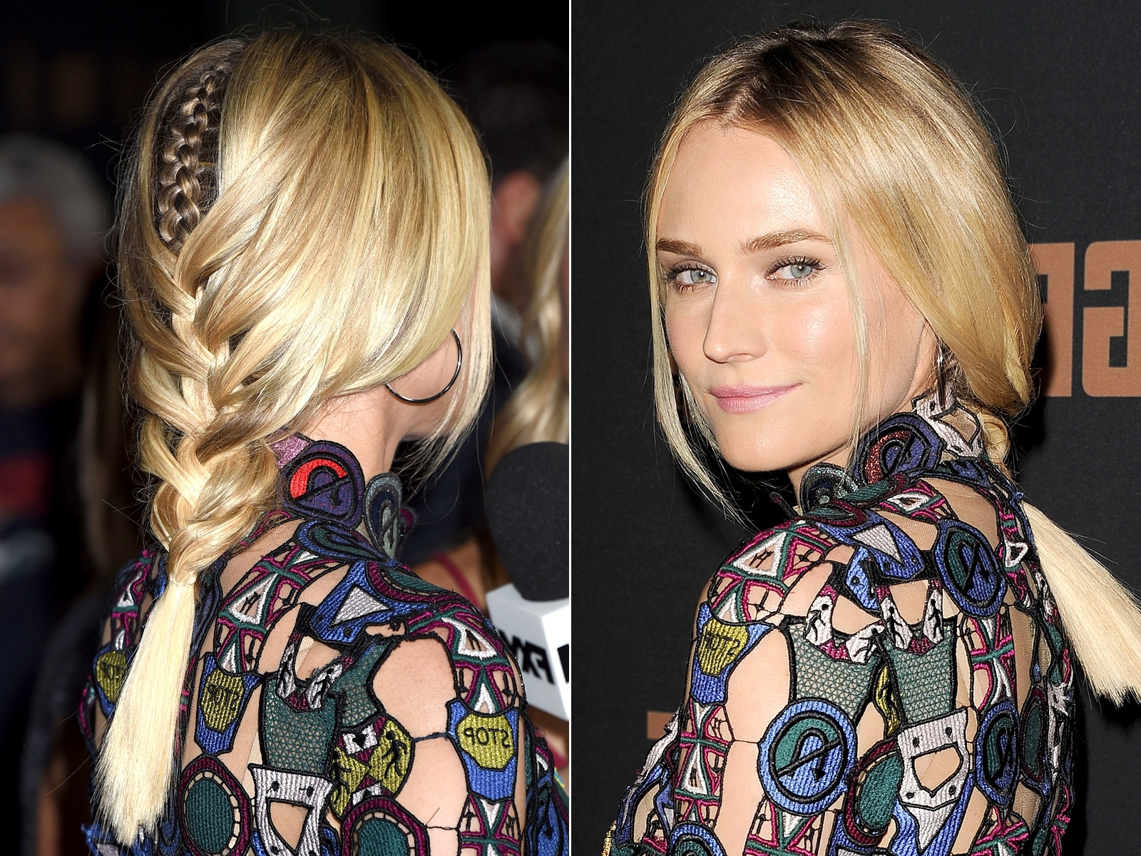 Most Current Red Carpet Braided Hairstyles With Regard To Celebs' Braided Hairstyles On The Red Carpet (View 10 of 15)