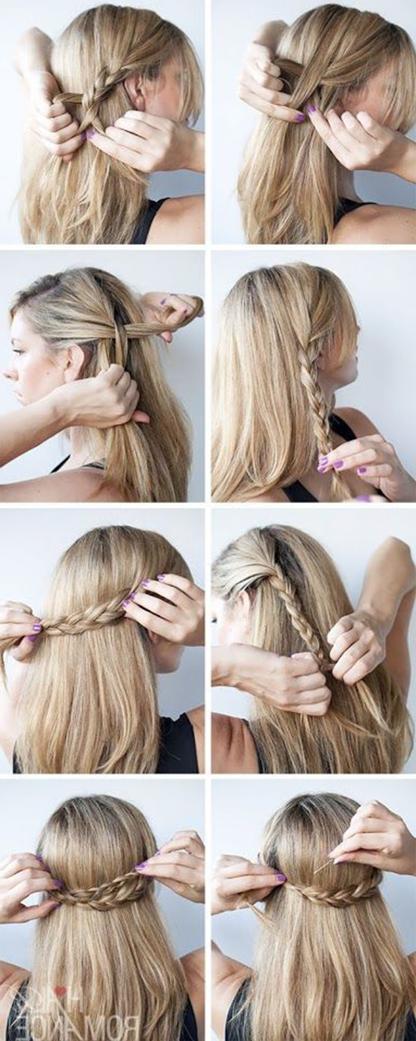 Most Popular Braided Graduation Hairstyles Pertaining To 15 Simple But Cute Graduation Hairstyles To Wear Under Your Cap (View 9 of 15)