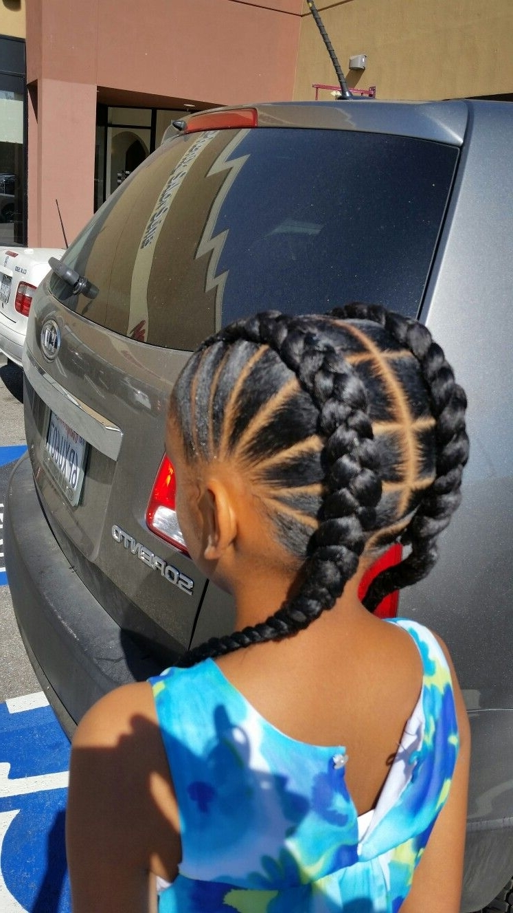 Most Popular Braided Hairstyles For Little Girl Throughout Braidsdej, Meagan (View 13 of 15)