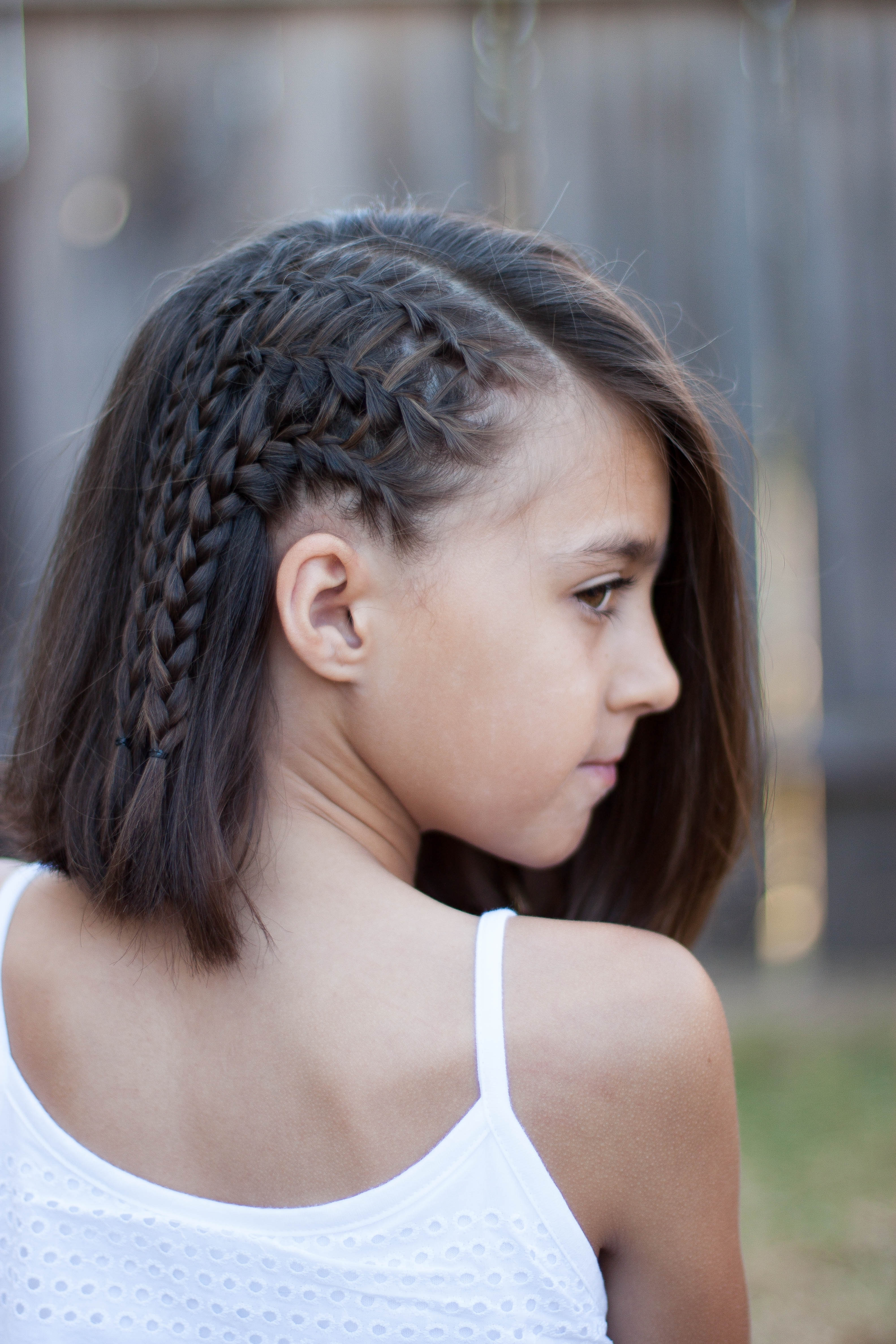 Most Popular Braided Hairstyles For Short Hair With Regard To 5 Braids For Short Hair (View 8 of 15)
