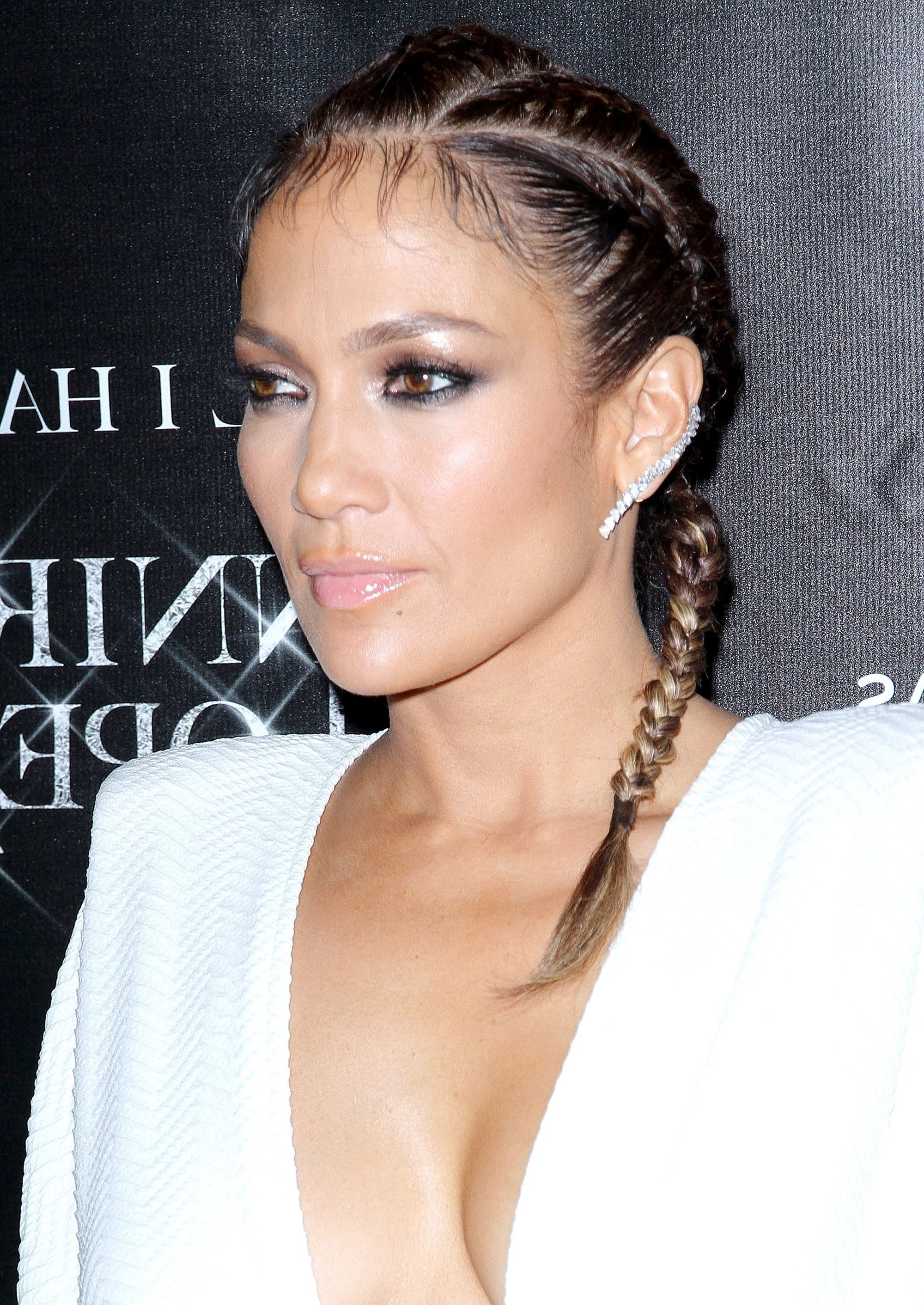 Most Popular Jennifer Lopez Braided Hairstyles Regarding Jennifer Lopez' Most Memorable Mane Moments (View 9 of 15)