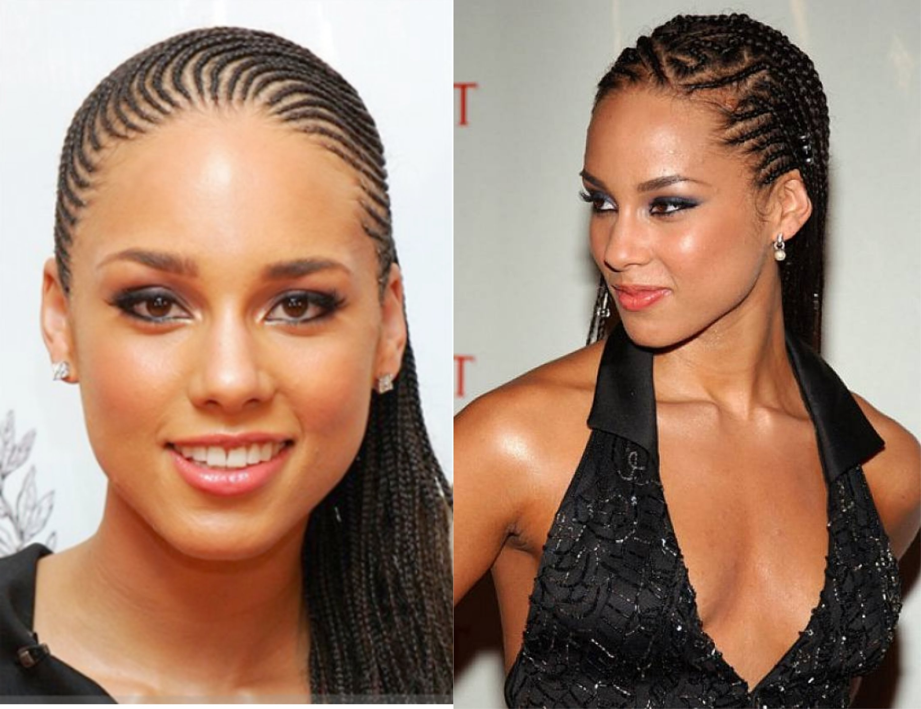 Most Recent Braided Hairstyles For Afro Hair Pertaining To Braids Hairstyles For Black Women – Youtube (View 6 of 15)