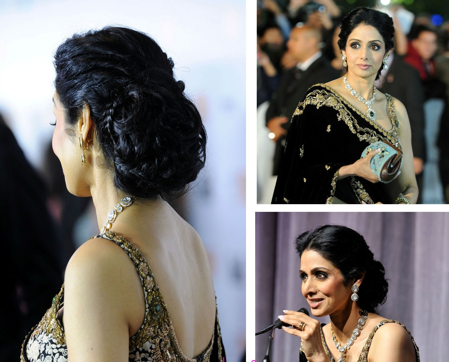 Most Recent Braided Hairstyles On Saree Inside 35+ Best Amazing Hairstyles For Saree That Will Add More Glamour To (View 14 of 15)