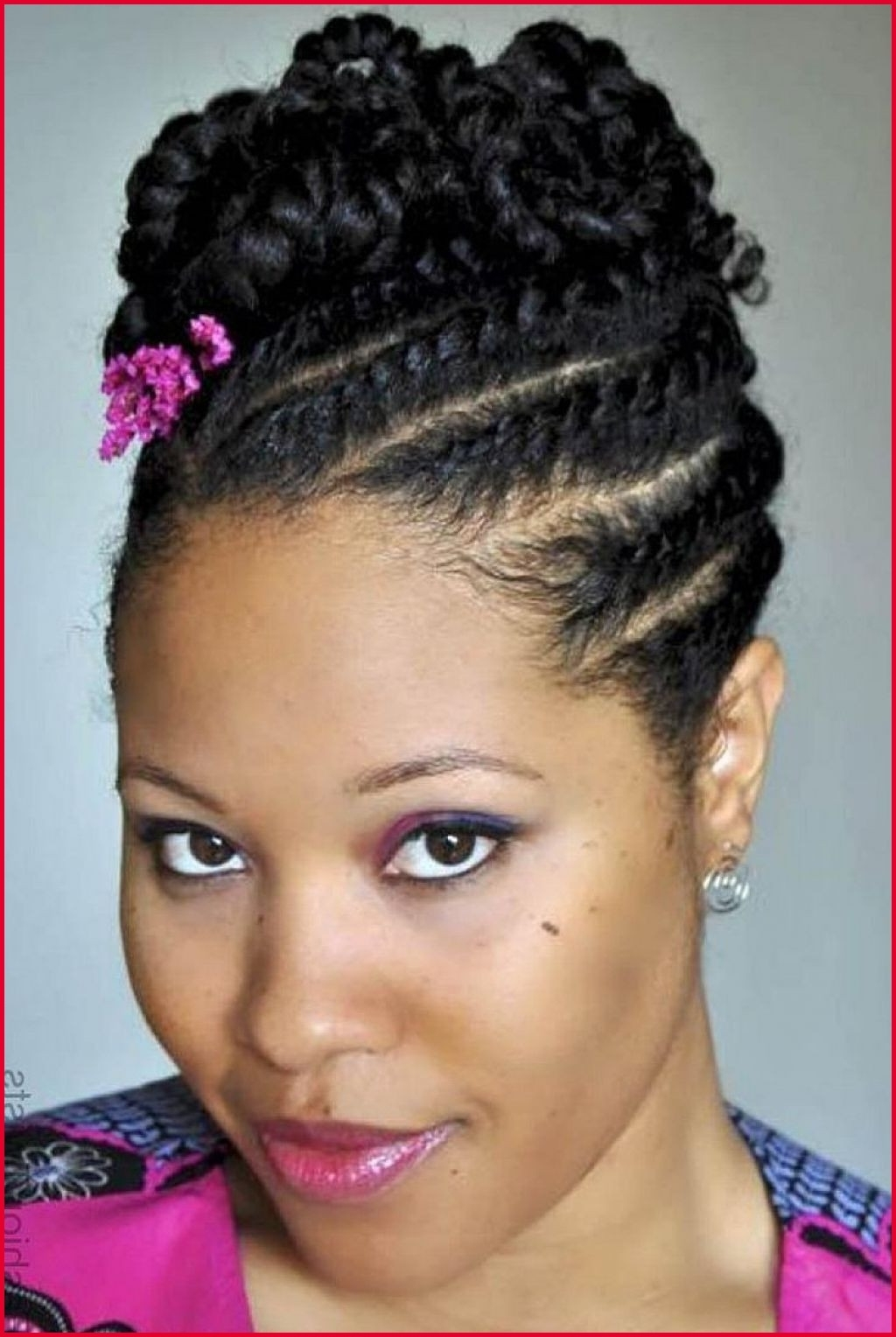 Most Recent Braided Updos African American Hairstyles For Black Braid Updo Hairstyles 12343 ˆš 24 Best Braided Updo (View 9 of 15)