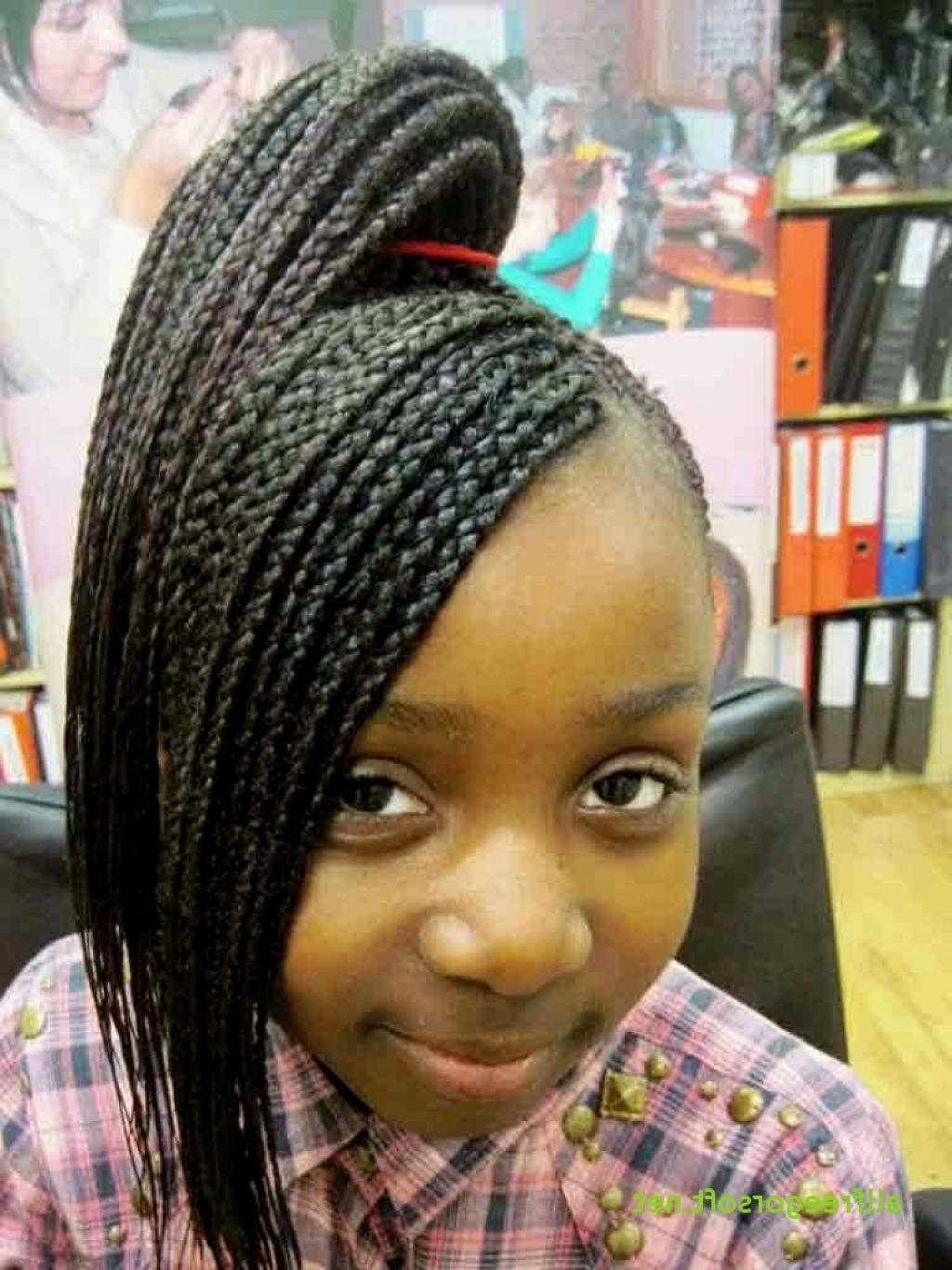 Most Up To Date Braided Hairstyles For Little Black Girl In √ 24+ Lovely Cute Braided Hairstyles For Little Black Girls: Cute (View 10 of 15)