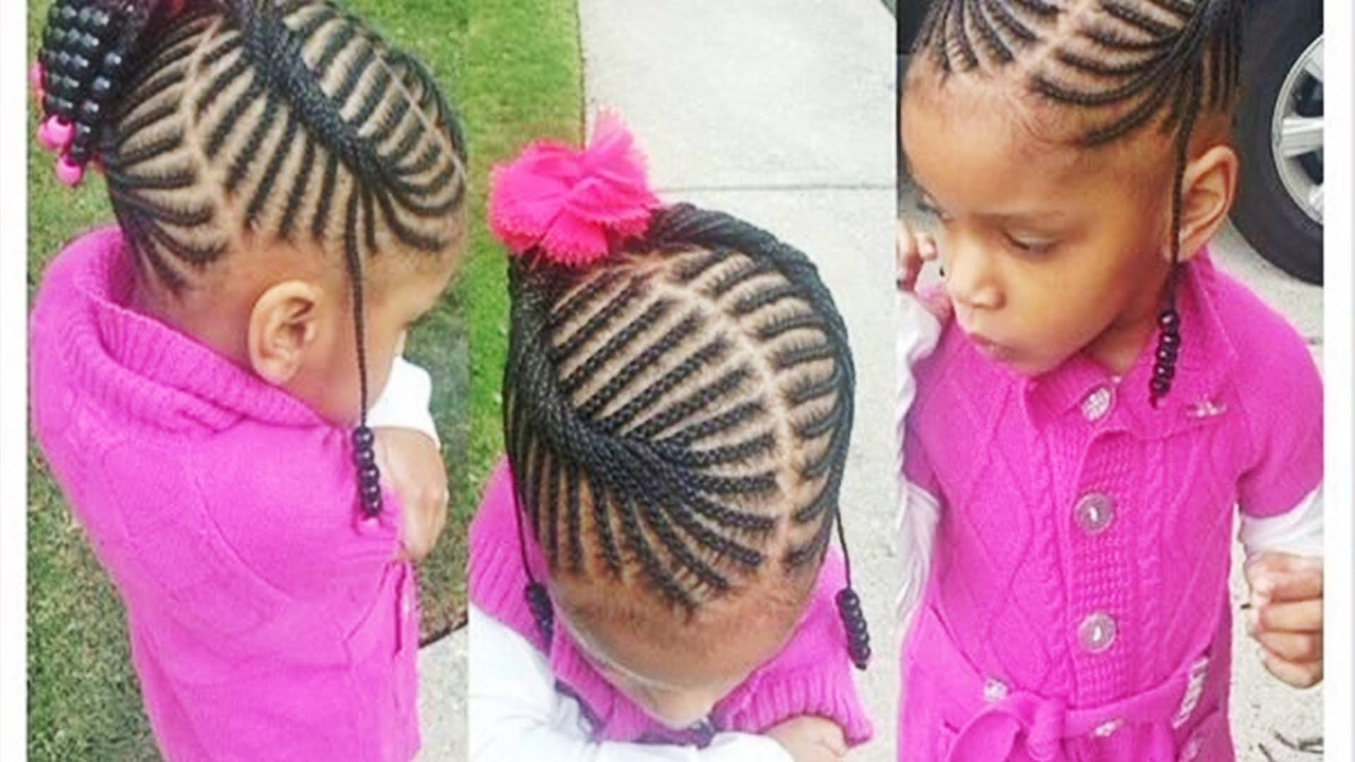 Most Up To Date Braided Hairstyles For Little Black Girl Pertaining To Cute Hairstyles For Little Black Girls 2016 – Youtube (View 11 of 15)