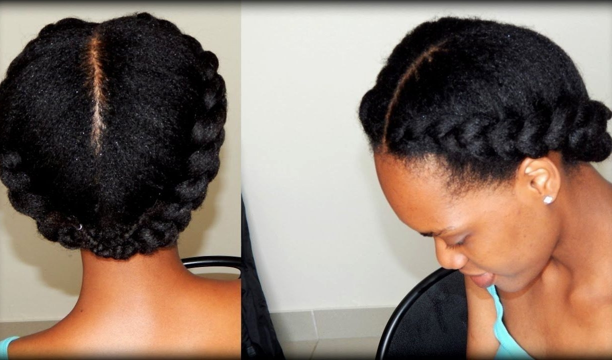 Most Up To Date Braided Hairstyles For Short Natural Hair In Wedding Ideasraided Hairstyles Forlack Natural Hair Short Goodraid (View 11 of 15)