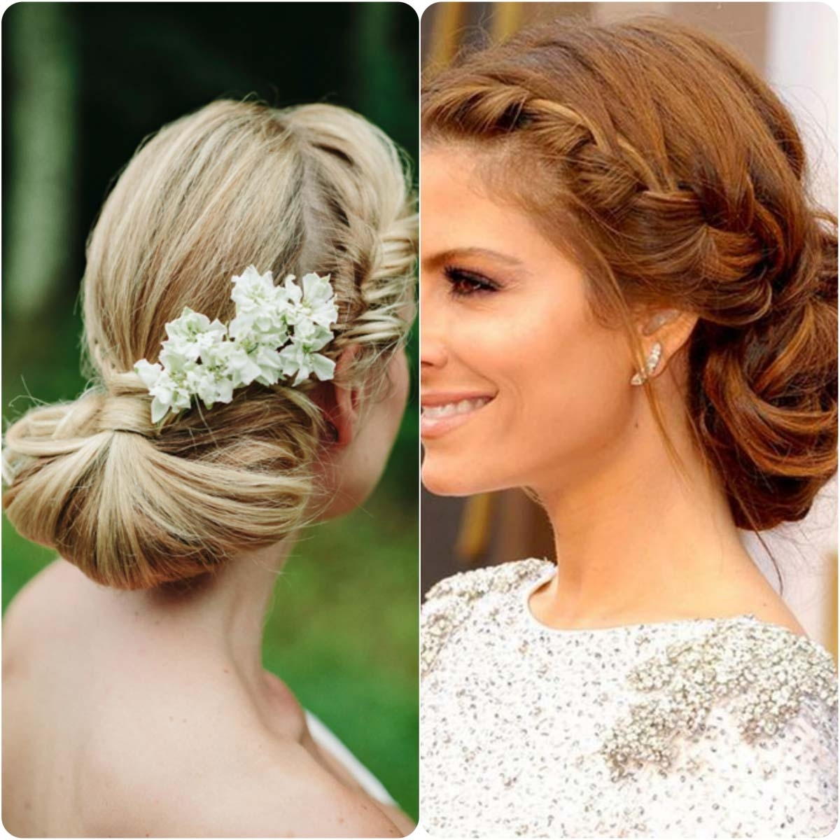 Most Up To Date Braided Hairstyles In The Front Regarding 20 Braided Hairstyles For Wedding Brides (View 13 of 15)