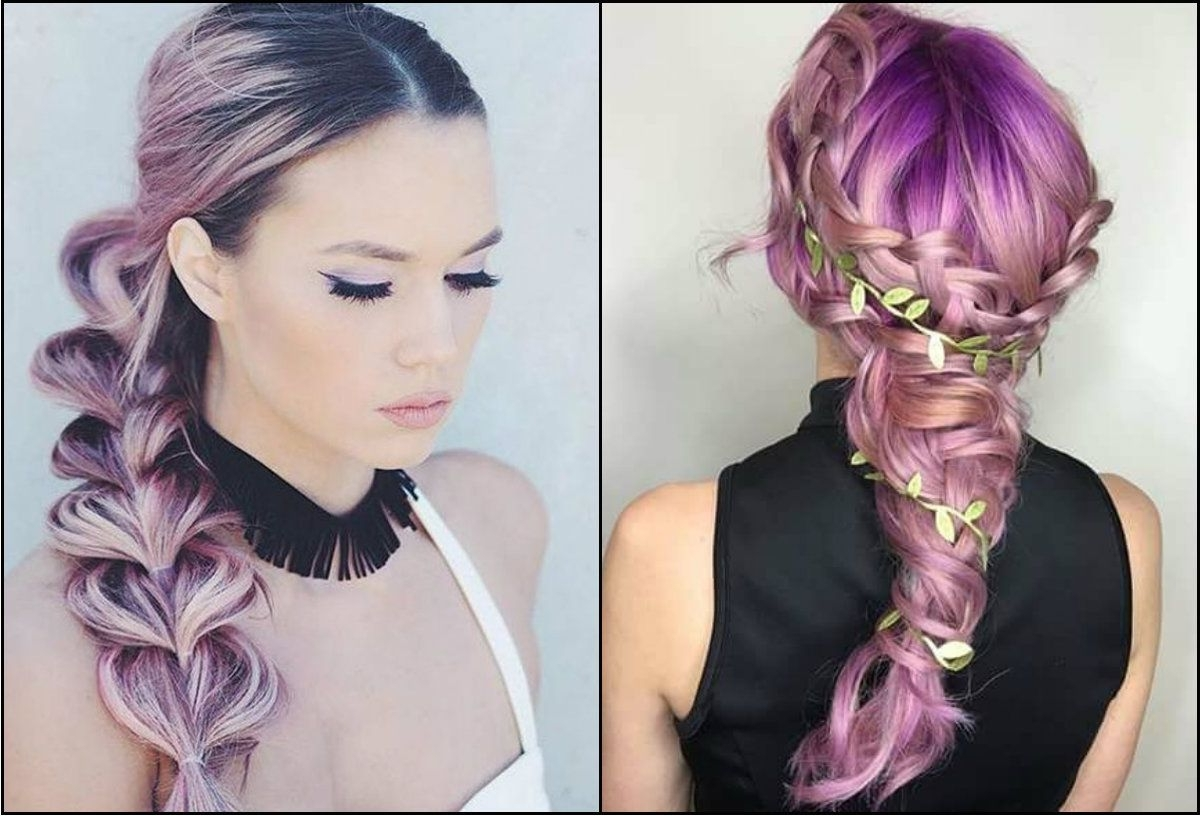 Most Up To Date Braided Hairstyles With Color Within Awesome Crayon Color Braids Hairstyles Do Not Miss Out // #awesome (View 9 of 15)