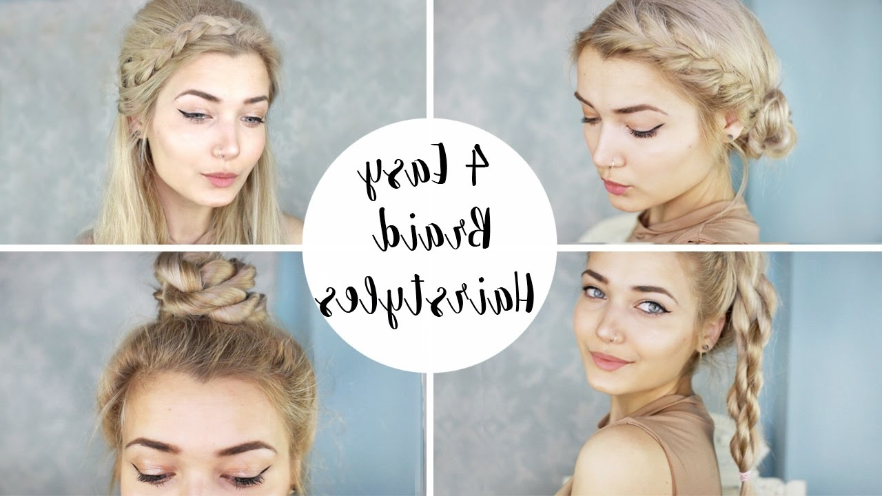 Most Up To Date Cute Braided Hairstyles For 4 Cute Braid Hairstyles (View 10 of 15)