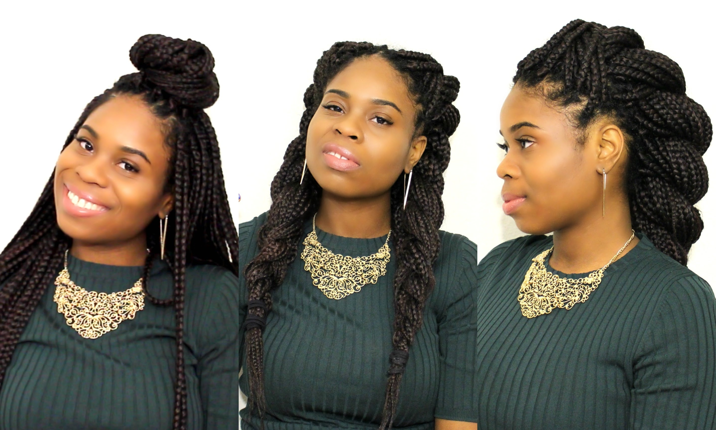 Most Up To Date Senegalese Braided Hairstyles With Top 7 Hairstyles For Box Braids/senegalese Twist! – Youtube (View 7 of 15)