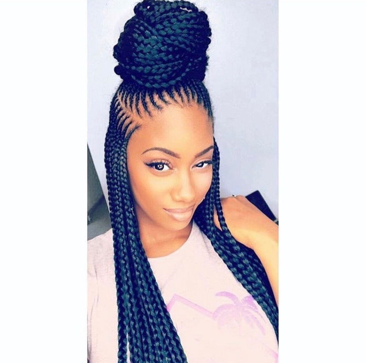 My Kinda Braids For Recent Braided Hairstyles With Weave (View 11 of 15)