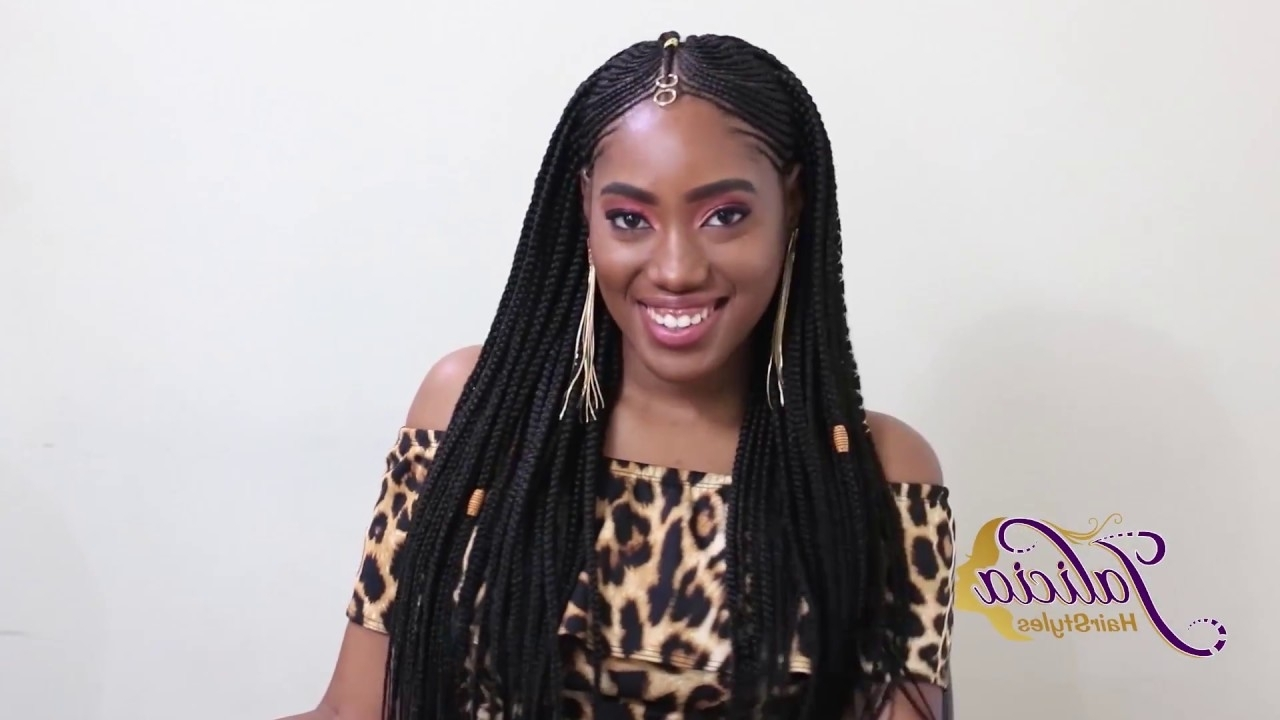New! Tribal Hairstylejalicia's Hairstyles! (2018) – Youtube With Well Known Jalicia Braid Hairstyles (View 12 of 15)