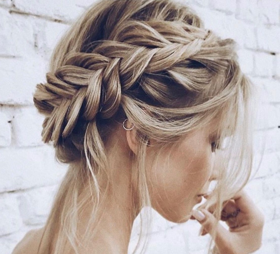 Newest Braided Lob Hairstyles Inside ♕@kyrapg ☾ Ig : Kyrapg⋆⋆ (View 9 of 15)