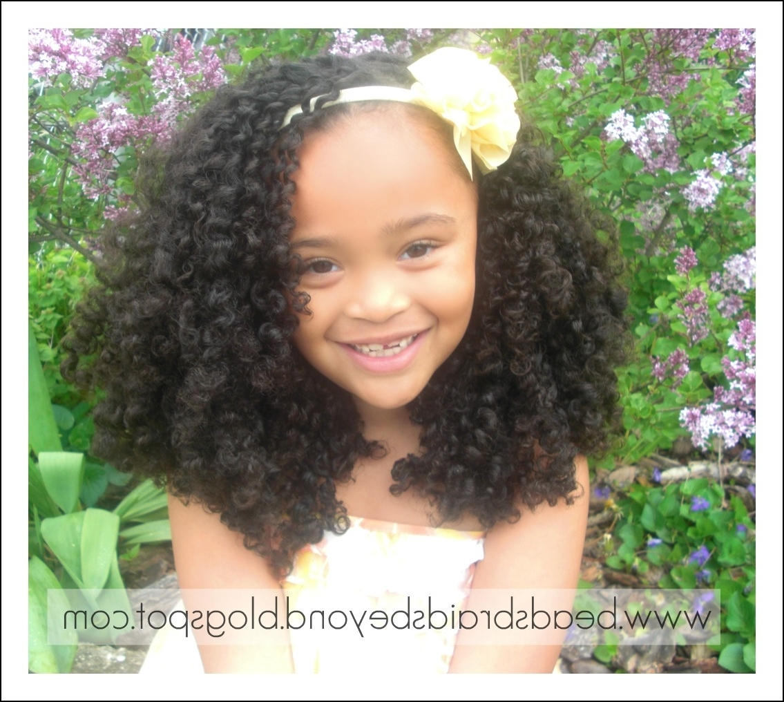 Newest Easter Braid Hairstyles Regarding Beads, Braids And Beyond: Easter Hairstyles For Little Girls With (View 9 of 15)