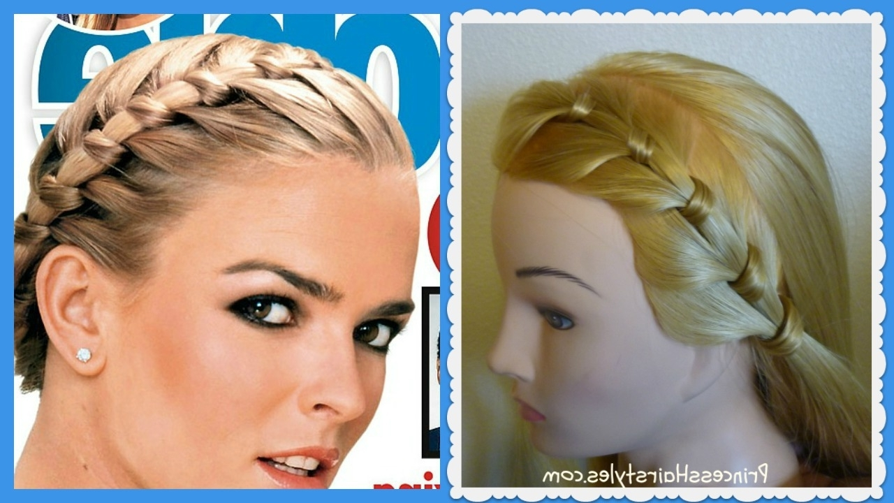 Nicole Brown Simpson Braid, Hairstyle On People Magazine Cover For Most Recent Braided Hairstyles Cover Forehead (View 4 of 15)