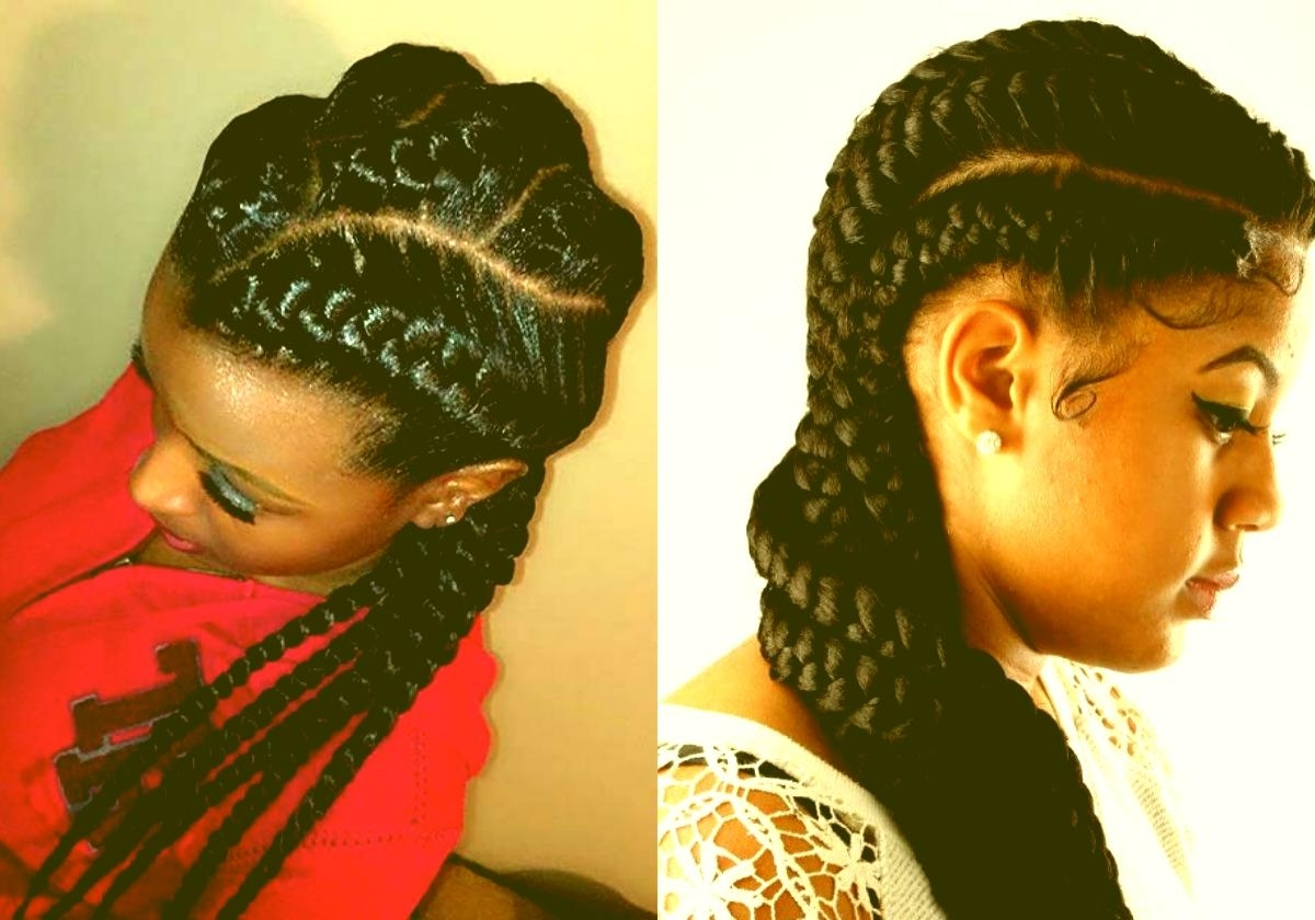 Nigerian Braids Hairstyle Cool African Goddess Braids Hairstyles Inside Widely Used Nigerian Braid Hairstyles (View 13 of 15)