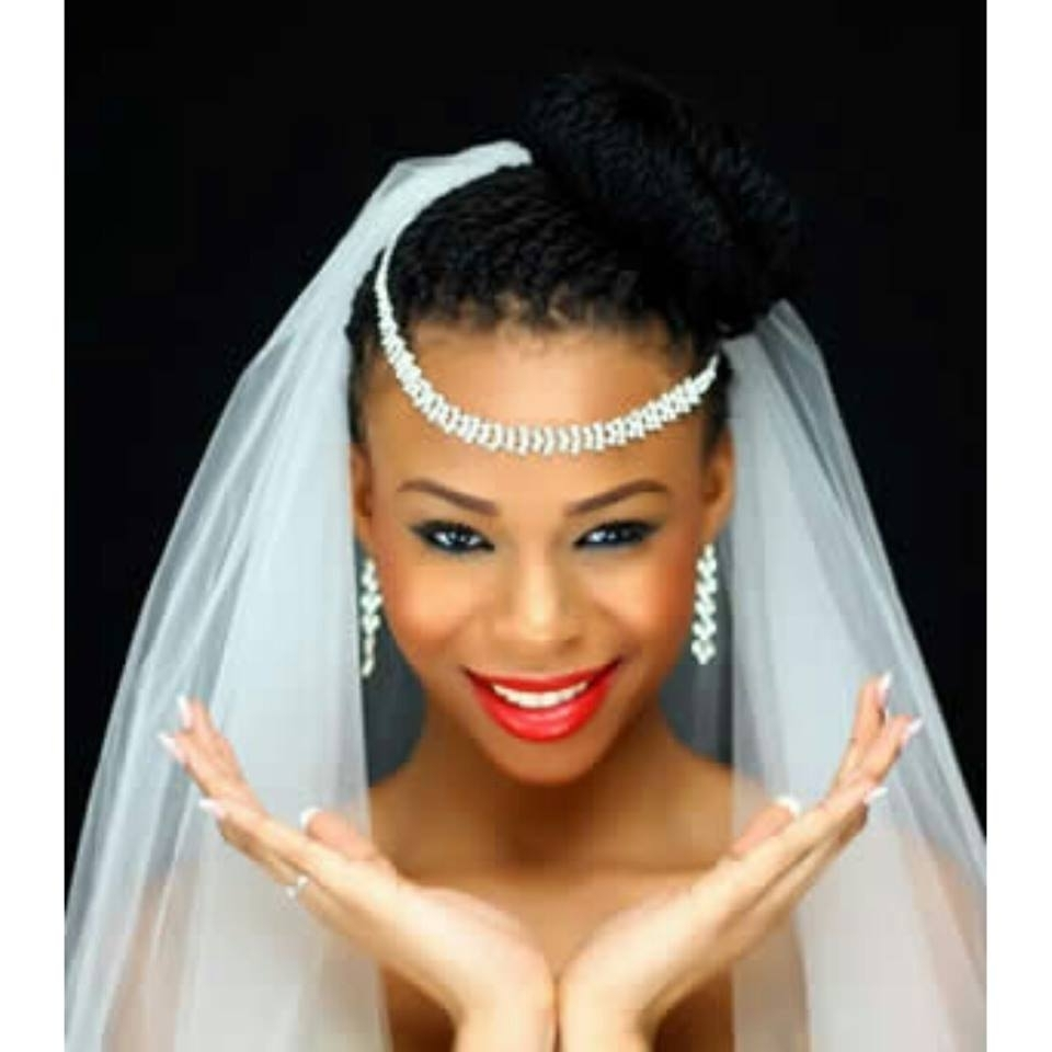 Nigerian Wedding 11 Unique & Beautiful Bridal Braids Hairstyle Throughout Popular Braided Hairstyles For Bridesmaid (View 12 of 15)