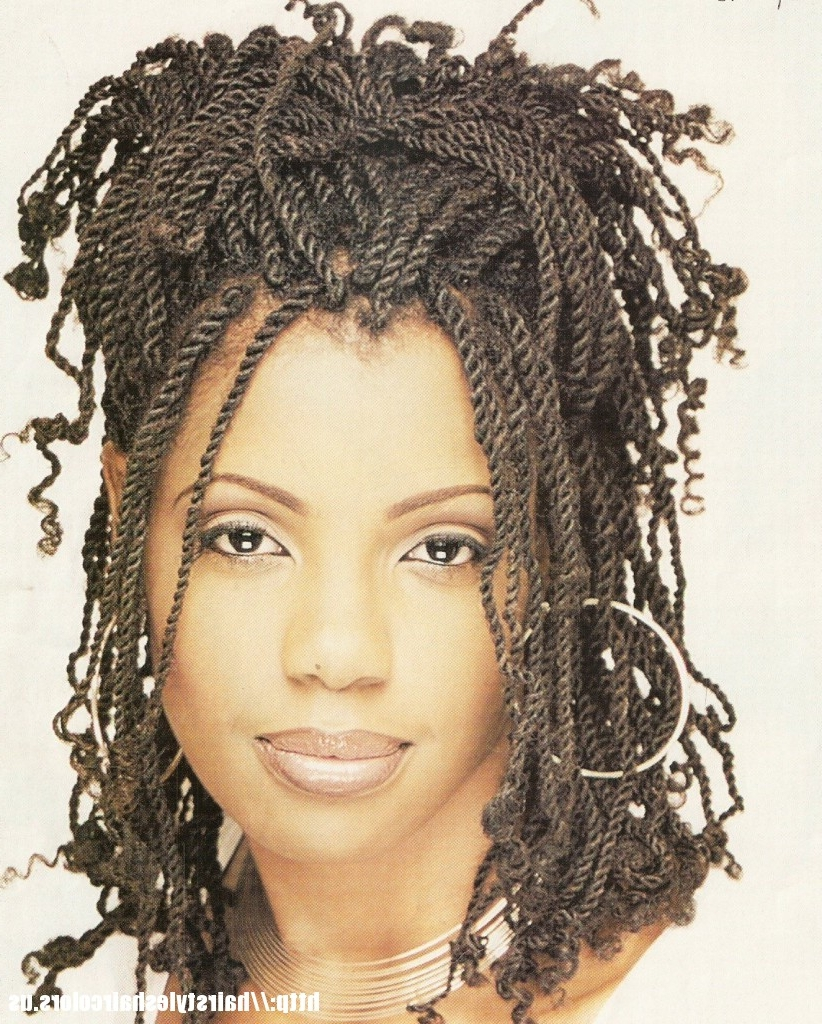 Of Braided Hairstyles For Black Women Over 40 Most Delightful Of With Favorite Braided Hairstyles For Women Over 40 (Gallery 2 of 15)