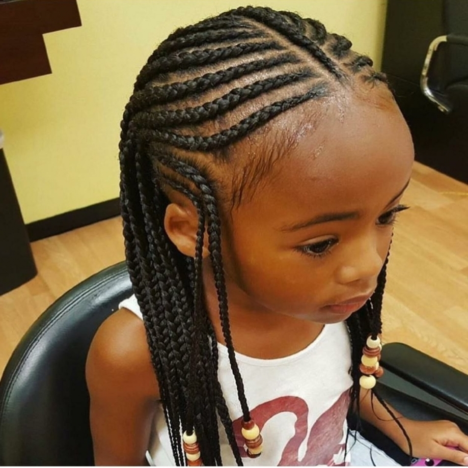 Official Lee Hairstyles For Gg Nayeli Pinterest Kid Braids With The Pertaining To Well Known Braided Hairstyles For Older Ladies (Gallery 14 of 15)