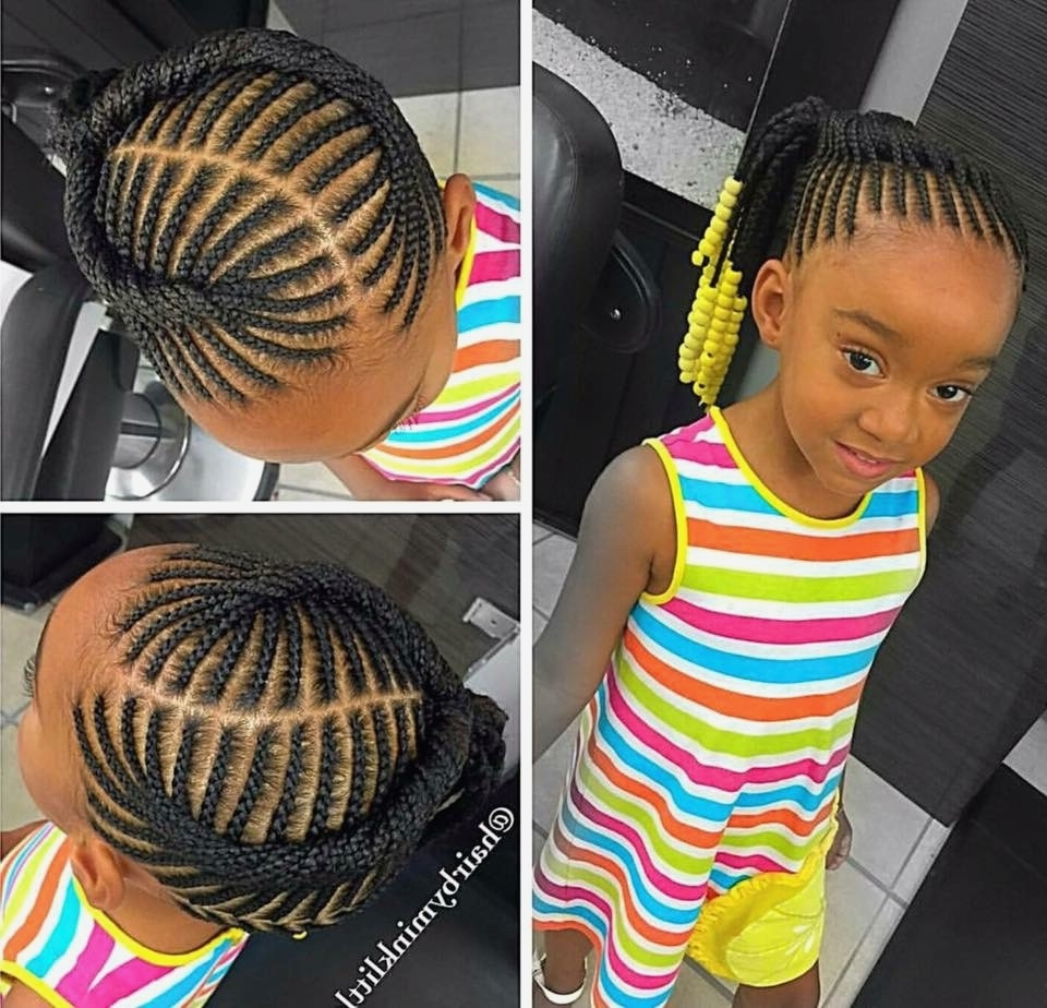 Outstanding Hair Cut For Emejing Cute Braided Hairstyles For Black Pertaining To 2017 Braided Hairstyles For Black Girls (Gallery 11 of 15)