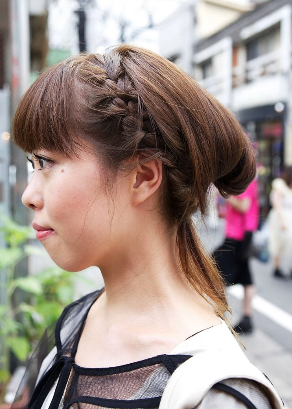 Pictures Of Japanese Girls Braided Hairstyle Intended For 2017 Japanese Braided Hairstyles (View 12 of 15)