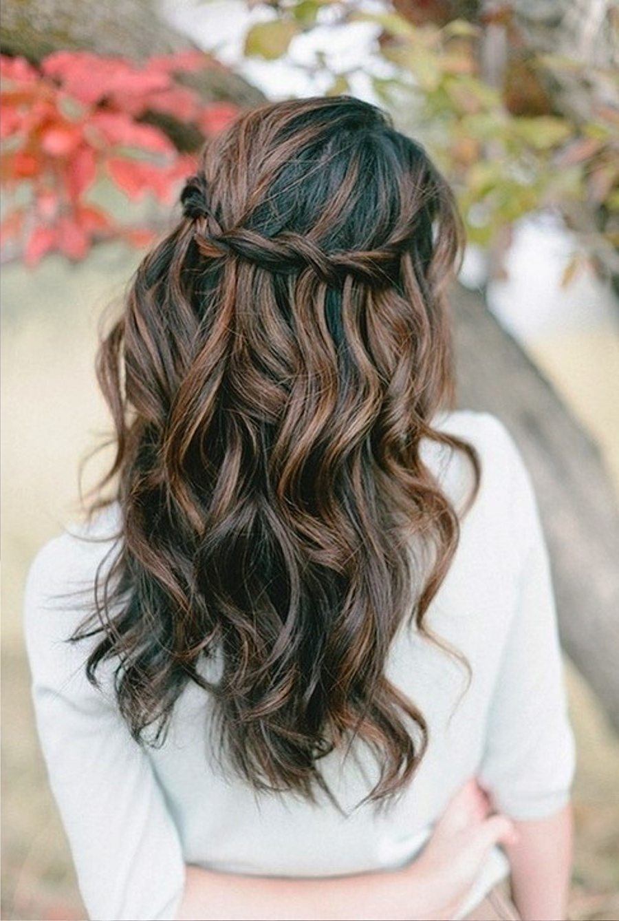 Popular Braid And Curls Hairstyles Intended For 15 Gorgeous Beach Hair Ideas For Summer (View 15 of 15)