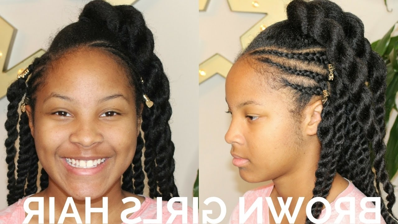 Popular Braided Hairstyles For Naturally Curly Hair With French Braid Hairstyles Natural Hair Beautiful Braided For (View 11 of 15)