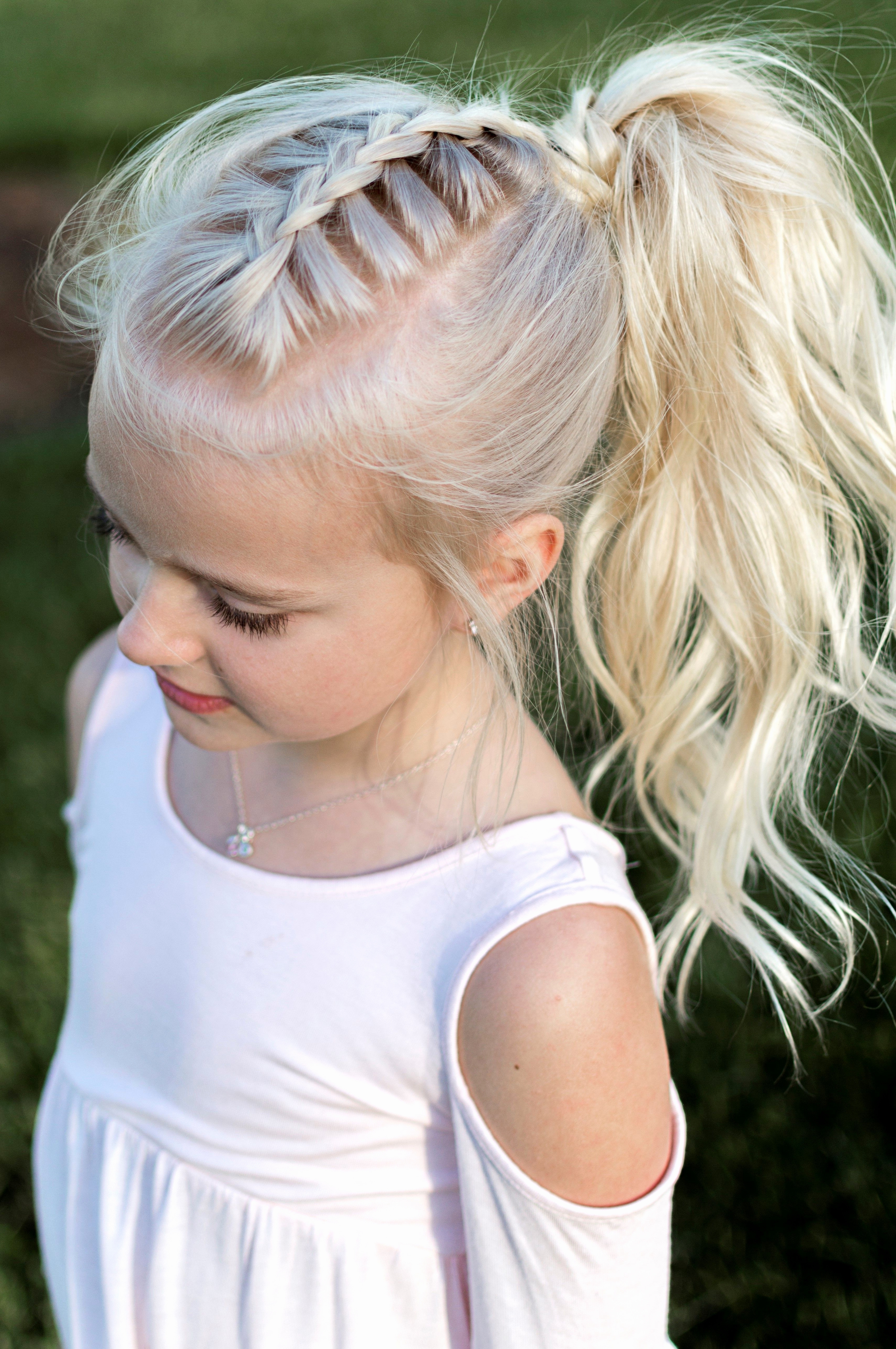 Preferred Braided Hairstyles For White Girl Regarding Hairstyles For White Women Fresh Little Girl Hairstyle French Braid (View 9 of 15)
